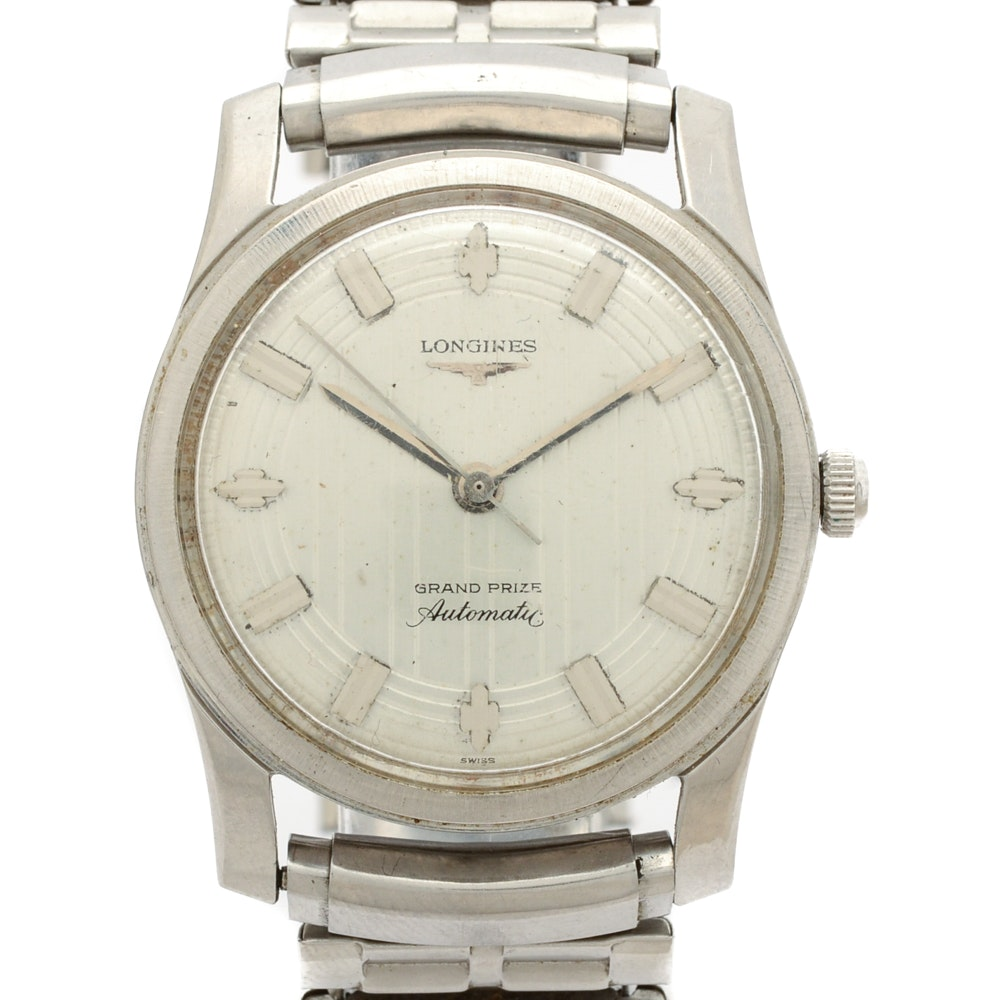 Longines Grand Prize Automatic Wristwatch