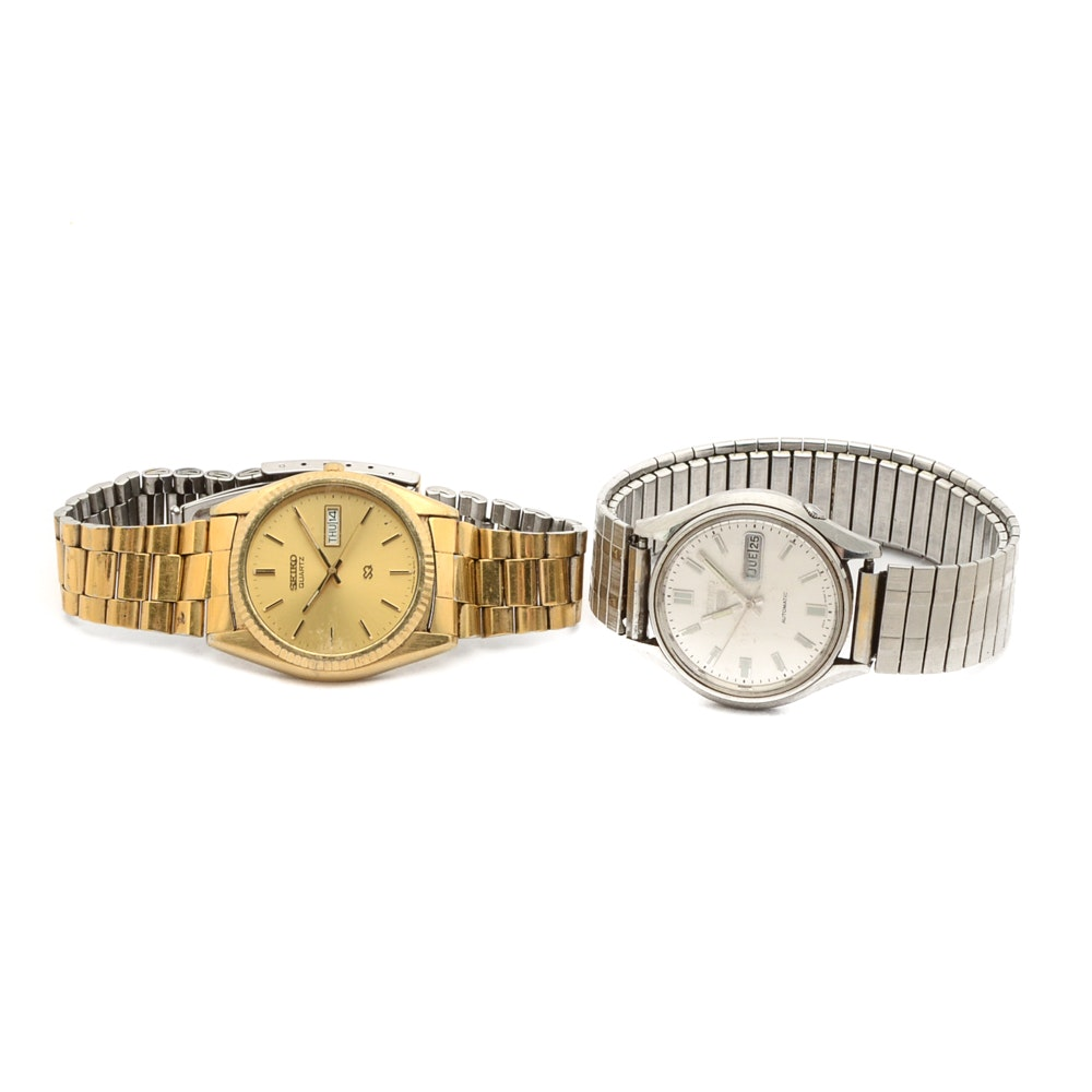 Vintage Seiko Wristwatches
