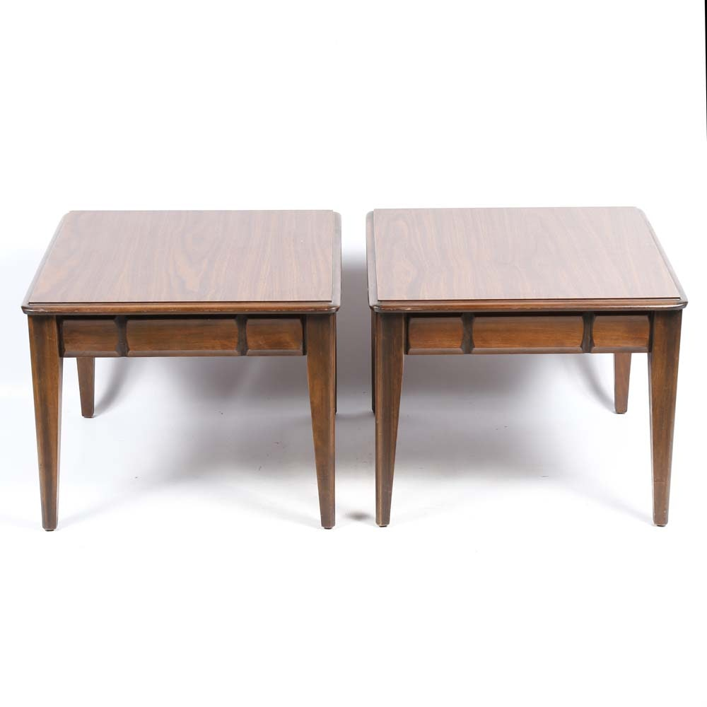 Mid Century Side Tables by Mersman