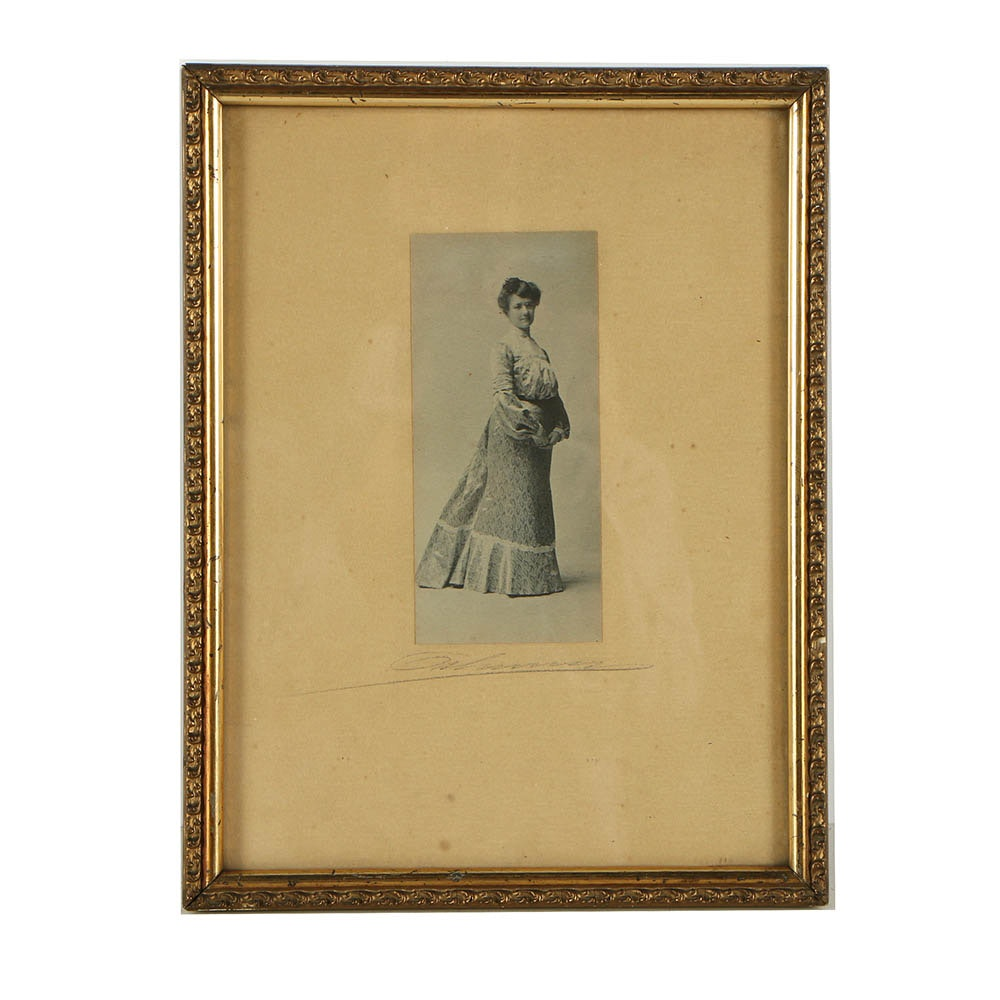Victorian Era Photograph of Woman
