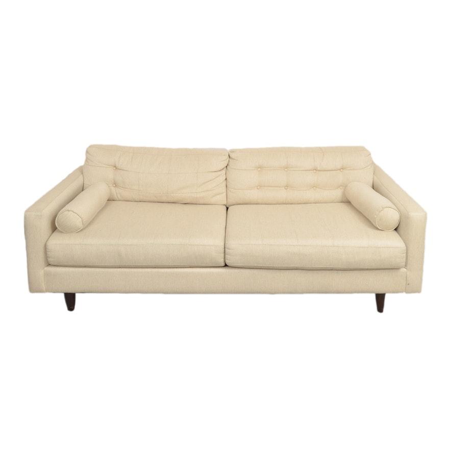 Peachy Mid Century Modern Style Sofa By Kroehler Creativecarmelina Interior Chair Design Creativecarmelinacom