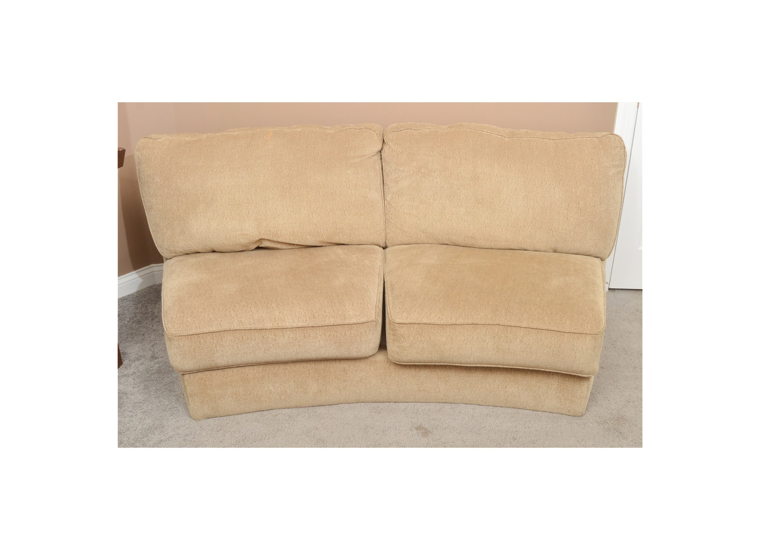 Contemporary Upholstered Love Seat by Ashley Furniture