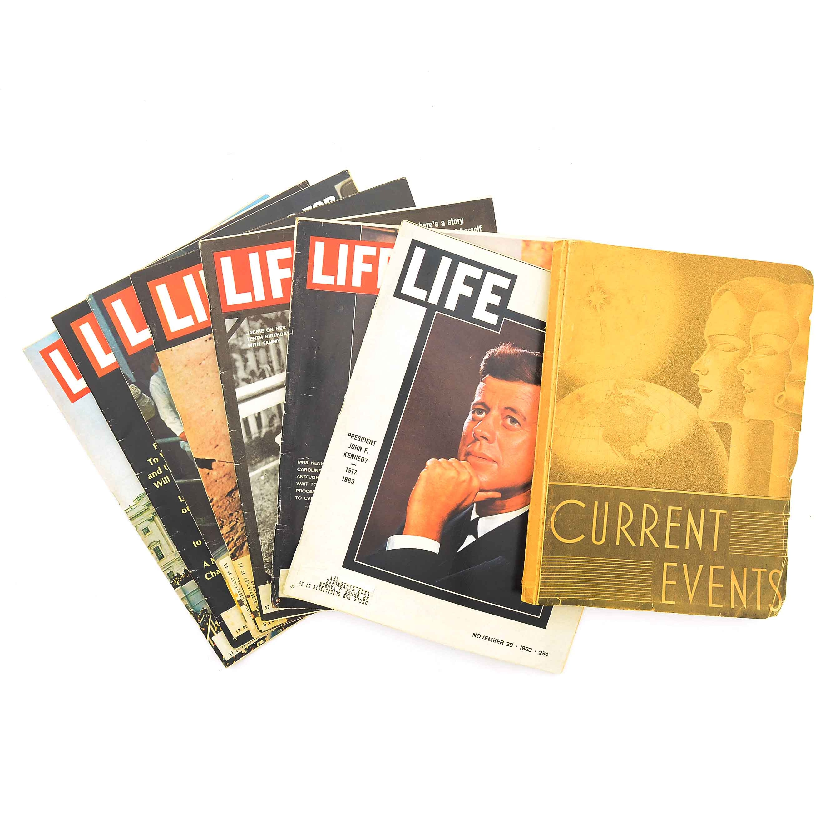Group of Vintage Historic Magazines
