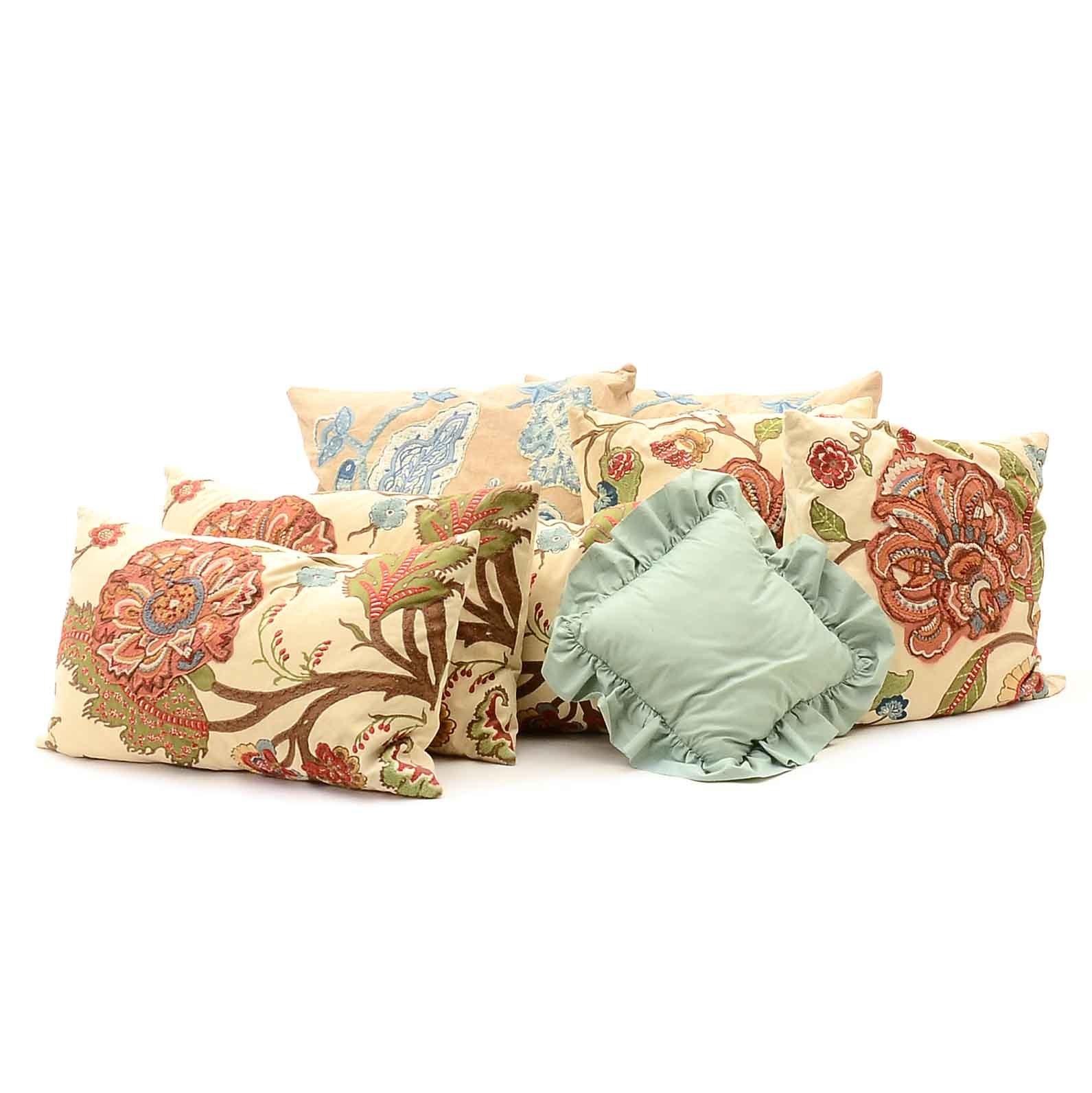 Group of Throw Pillows