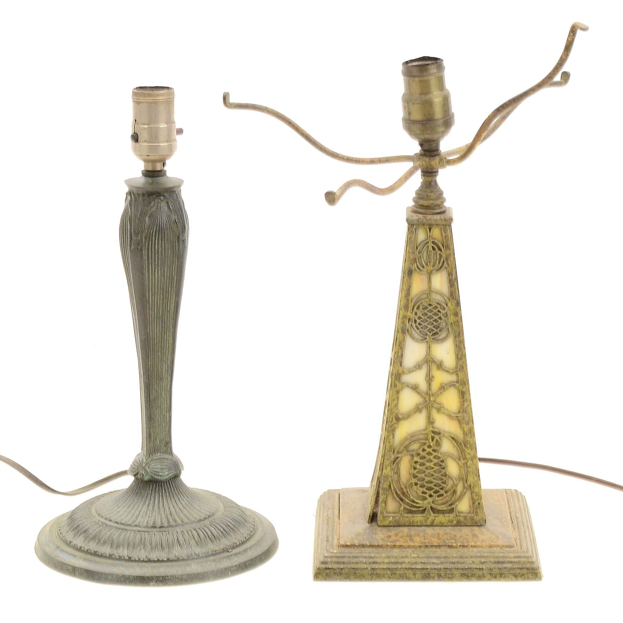 Pair of Art Deco Style Lamp Bases