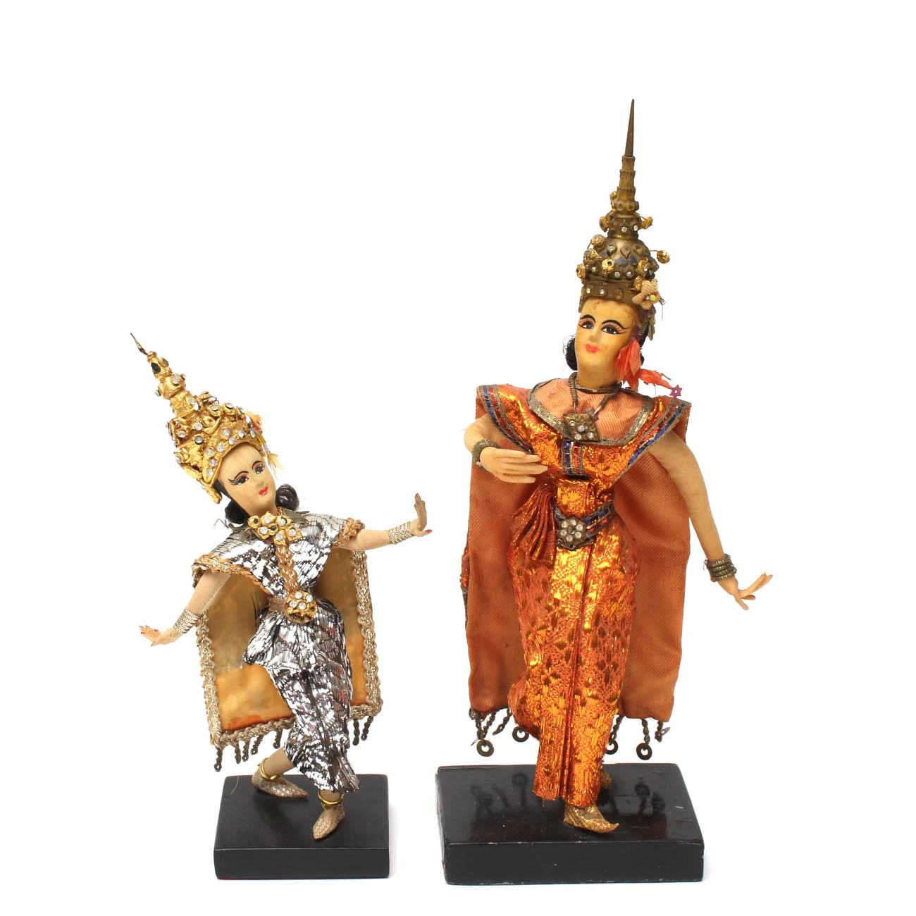 Thai Dancer Figurines