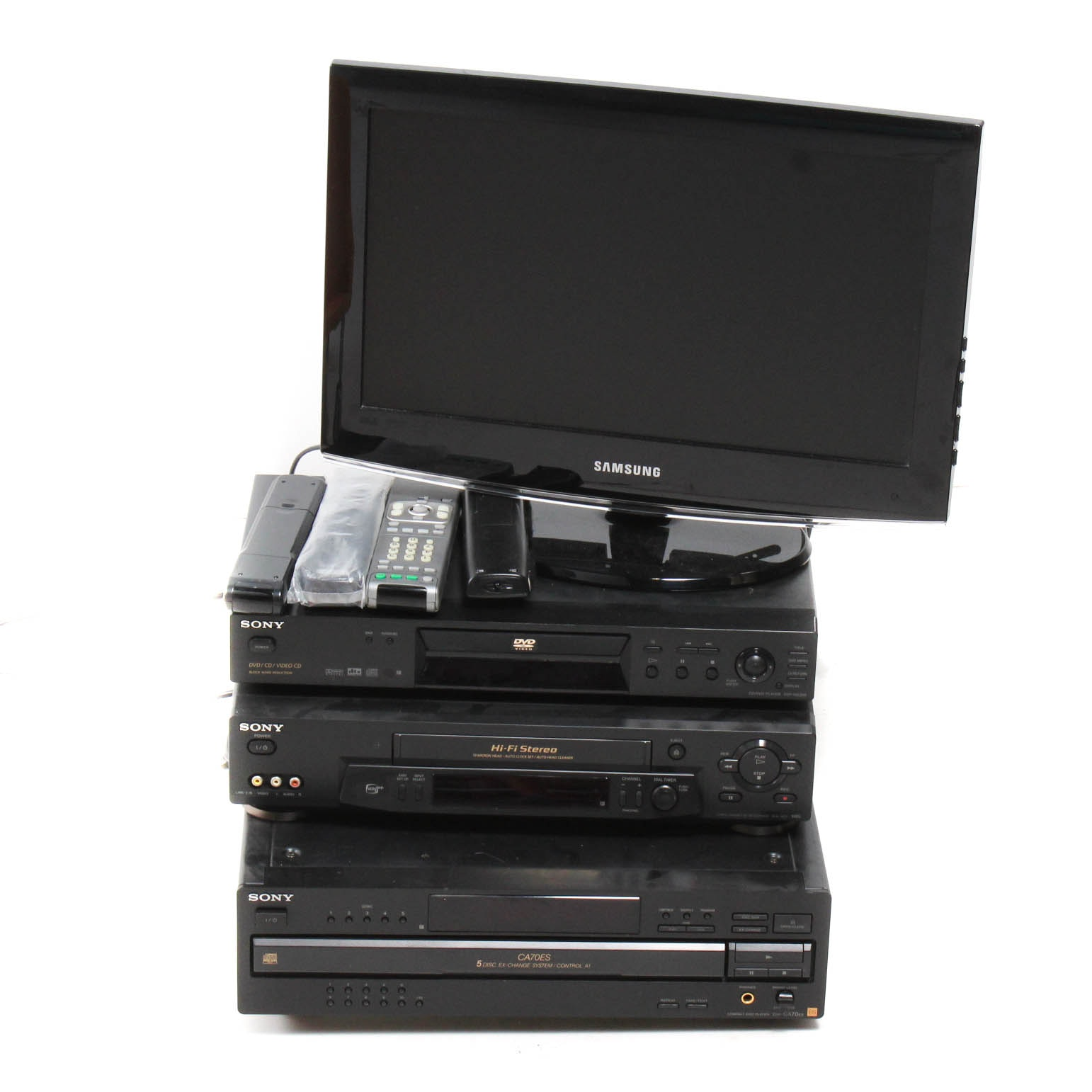 Samsung TV and Sony Audio/Video Components