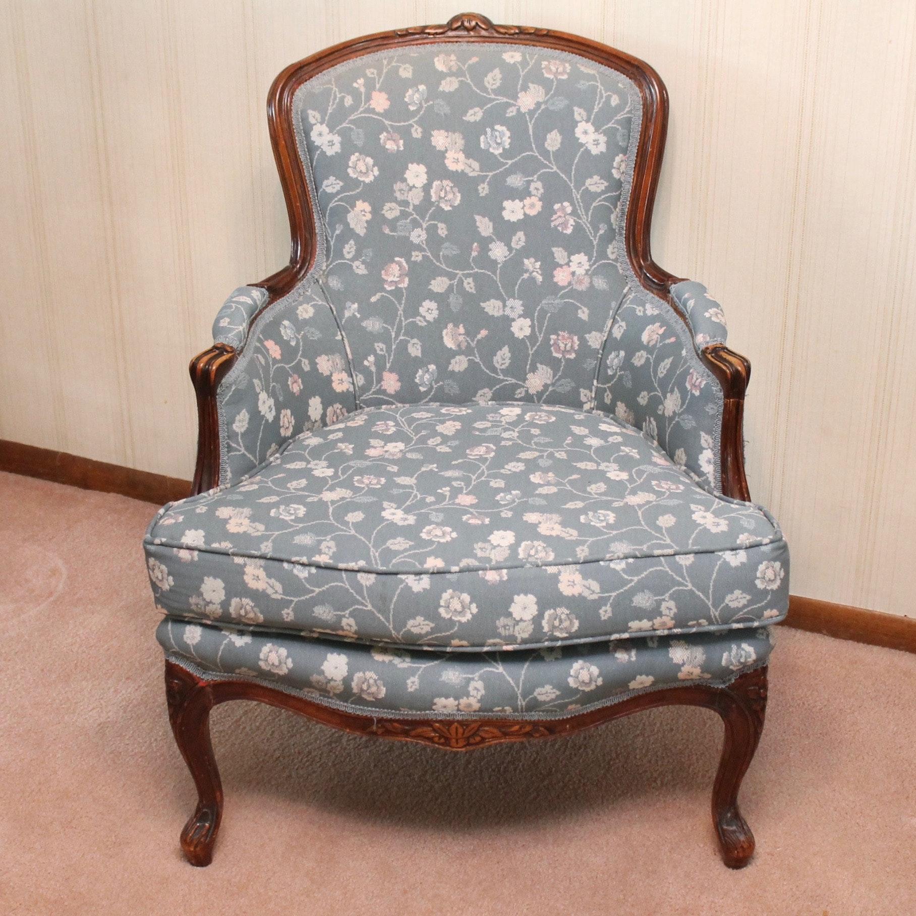 Louis XV Style Bergère Chair