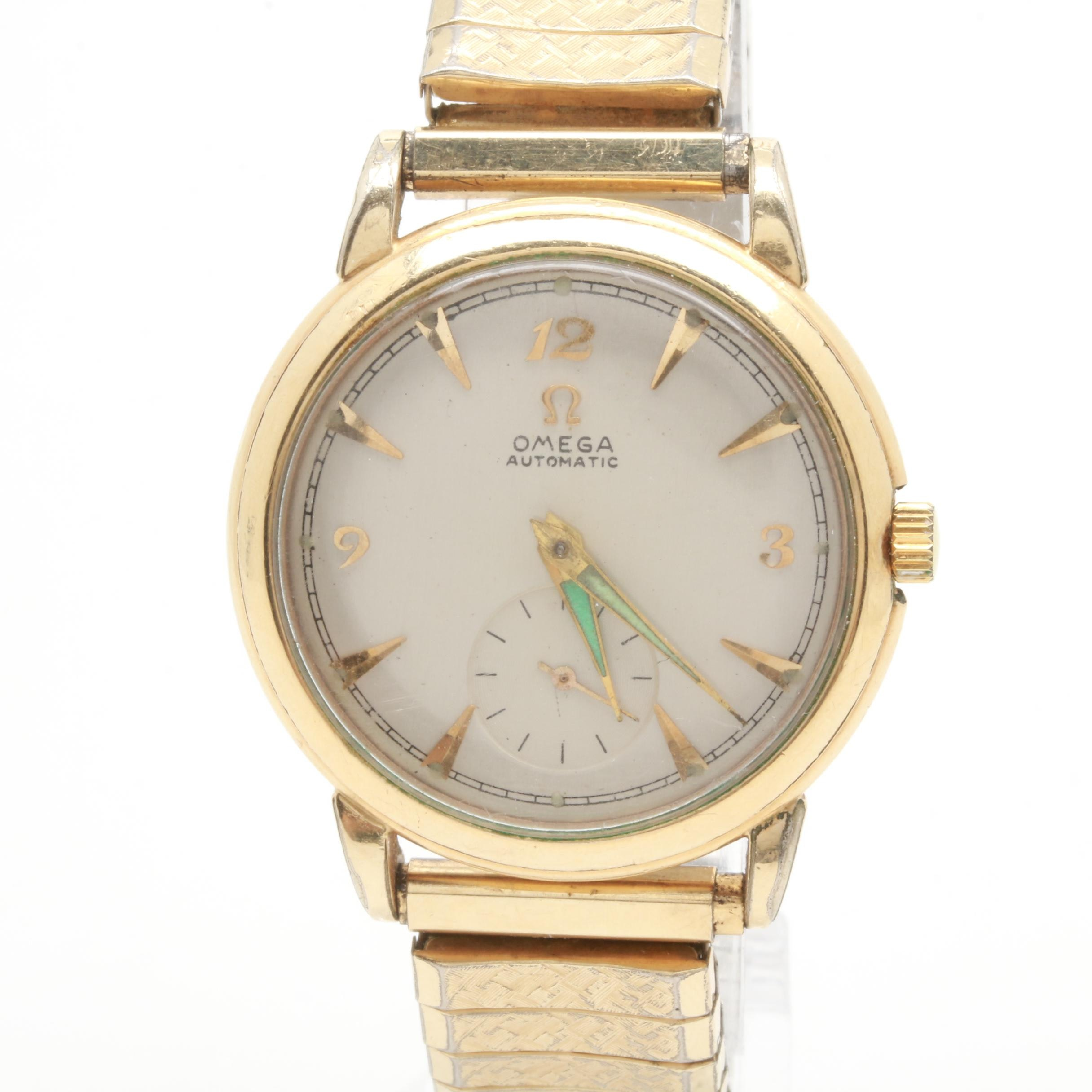 Omega Gold Filled Automatic Wristwatch