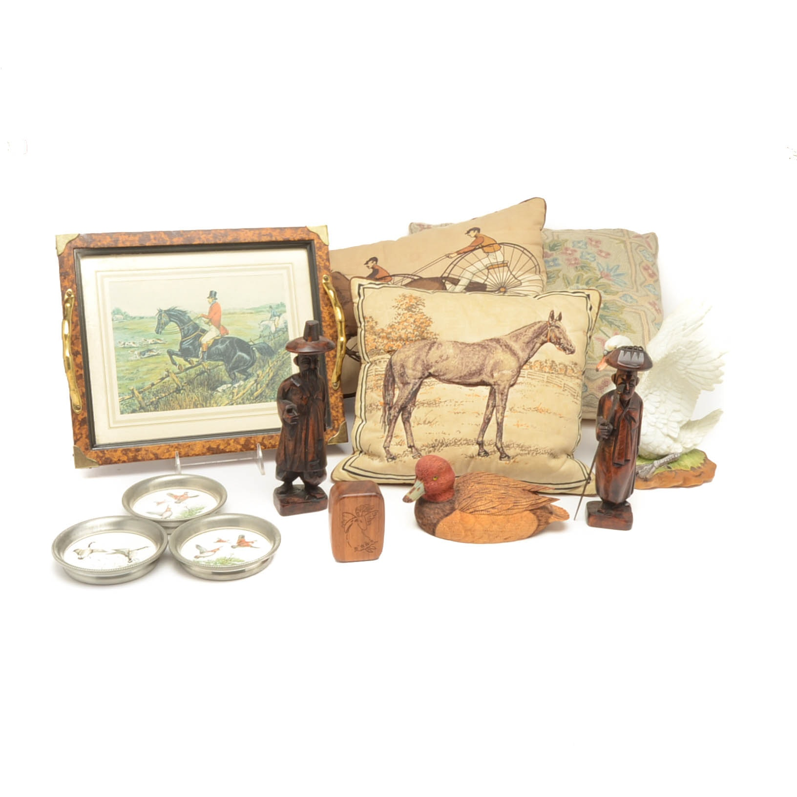 Assorted Vintage Decorative Figurines and More