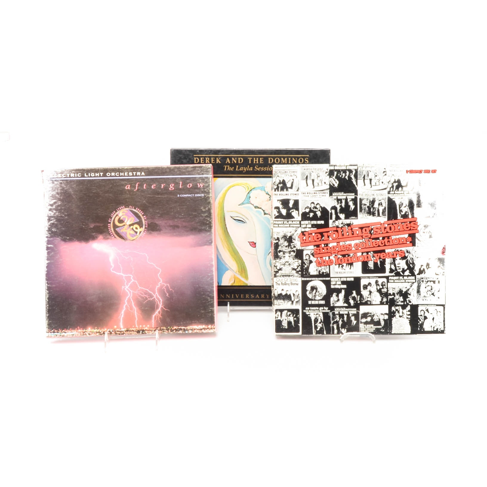 Three Boxed CD Sets Including The Rolling Stones