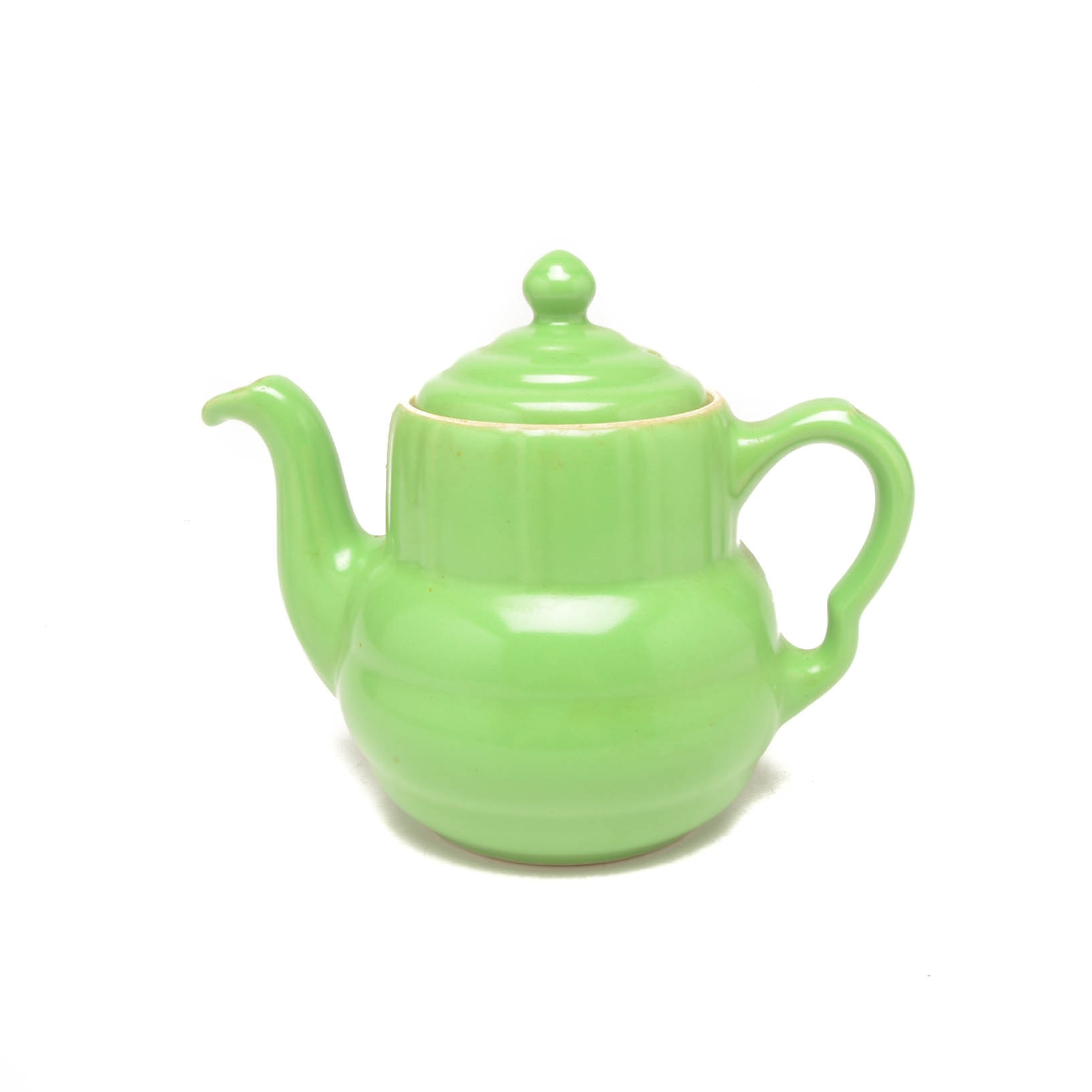 Mid Century Tricolator Products Green Teapot With Lid