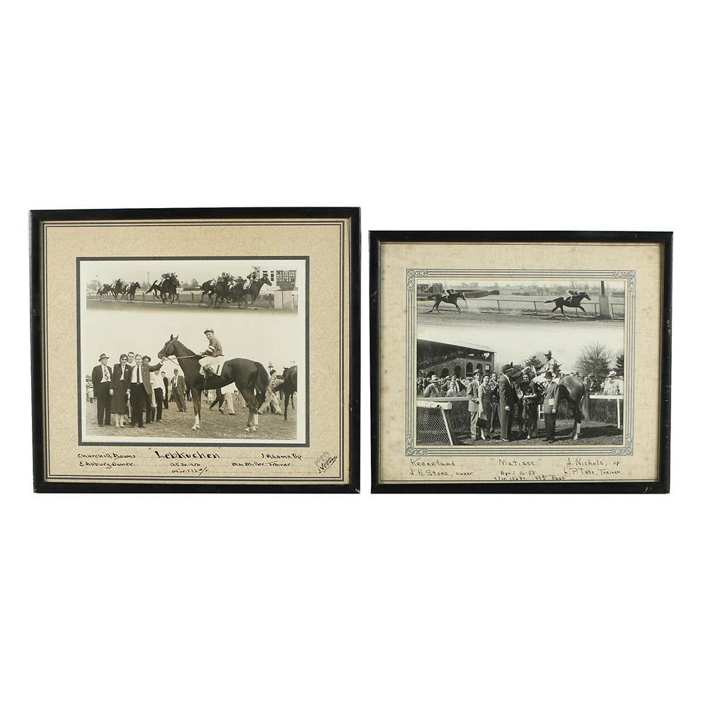 """Pair of Gelatin-Silver Photographs """"Matisse"""" and """"Hebkuchen"""""""