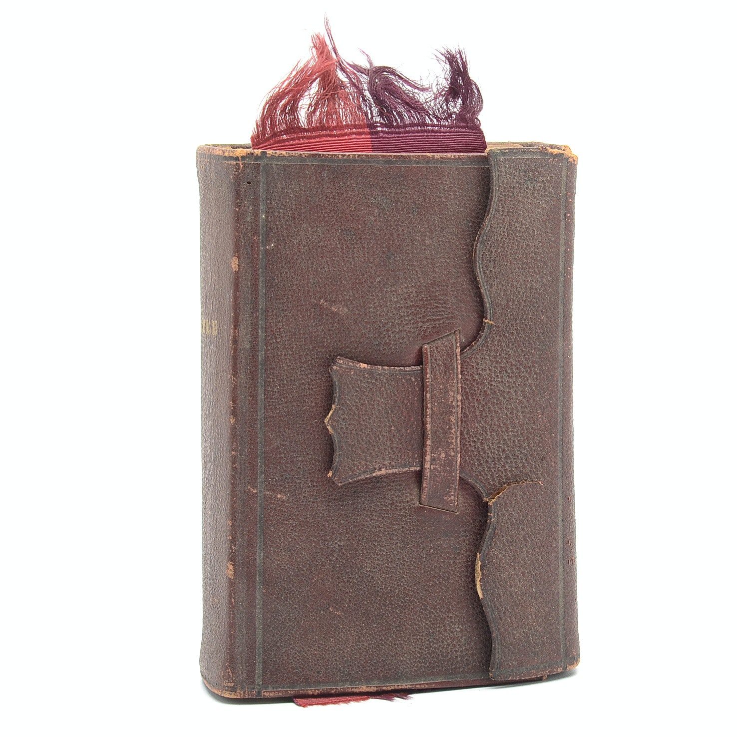 Civil War Pocket-Sized Bible With Inscription