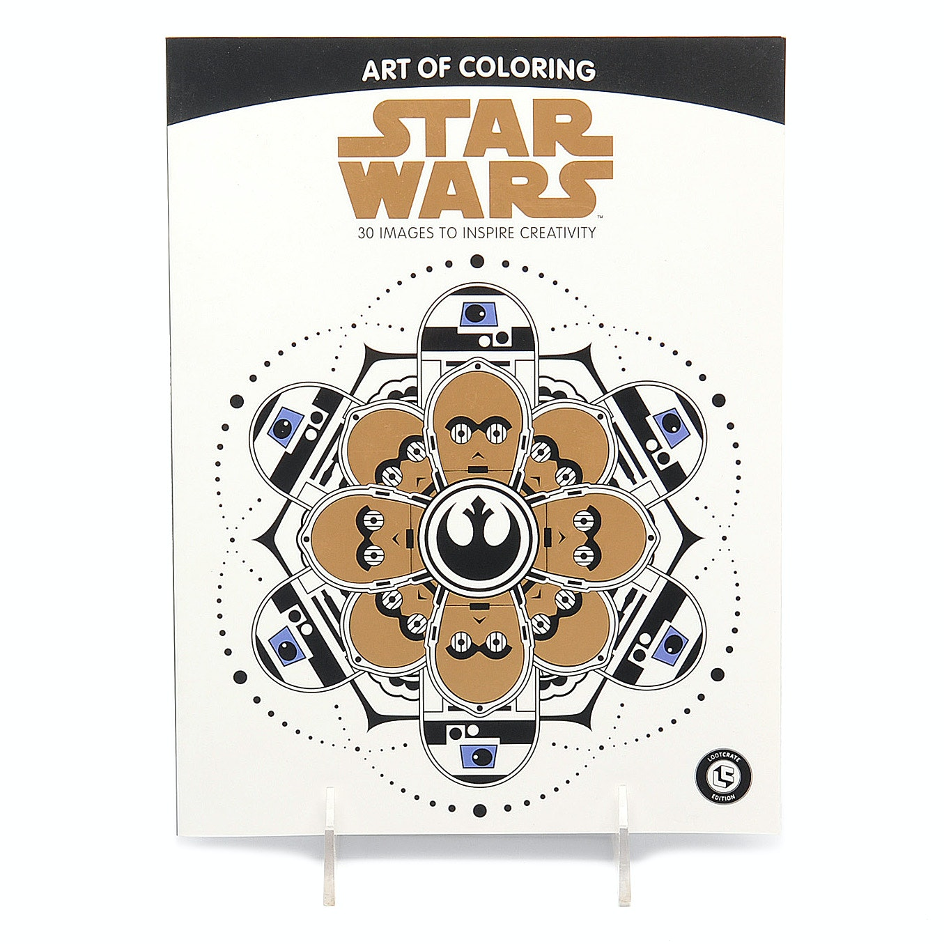 """Star Wars: Art Of Coloring"" Book By Disney"
