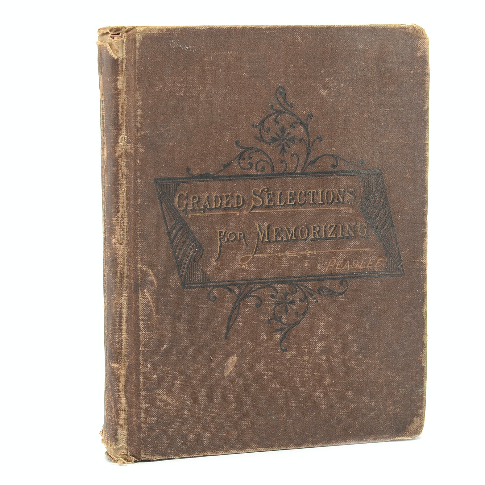 "1880 ""Graded Selections for Memorizing"" by John Peaslee"