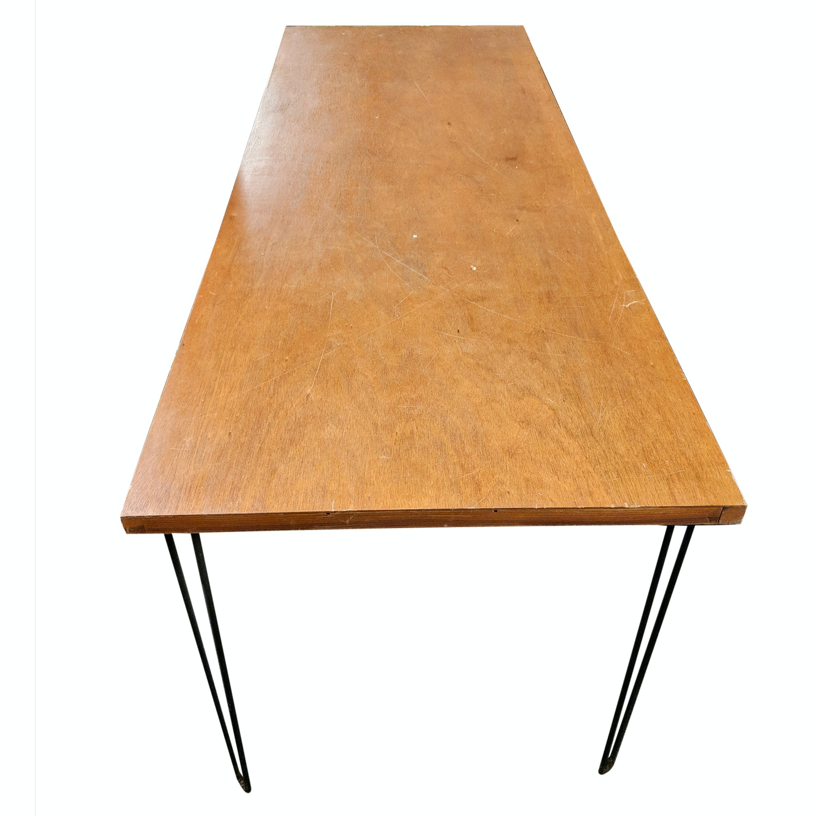 Mid-Century Modern Style Handcrafted Table