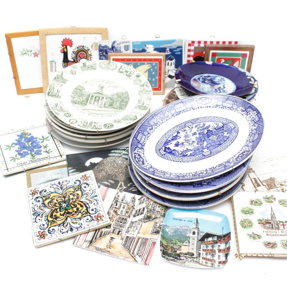 Transferware and Commemorative Plates