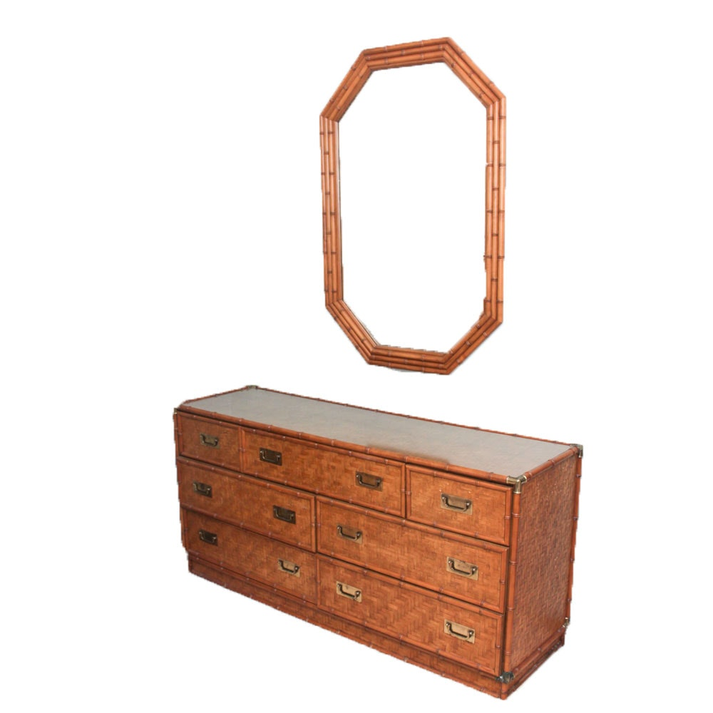 Vintage Campaign Style Dresser