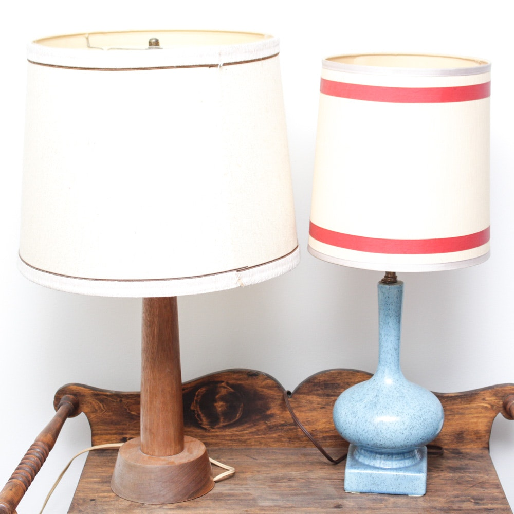 Pair of Mid Century Table Lamps