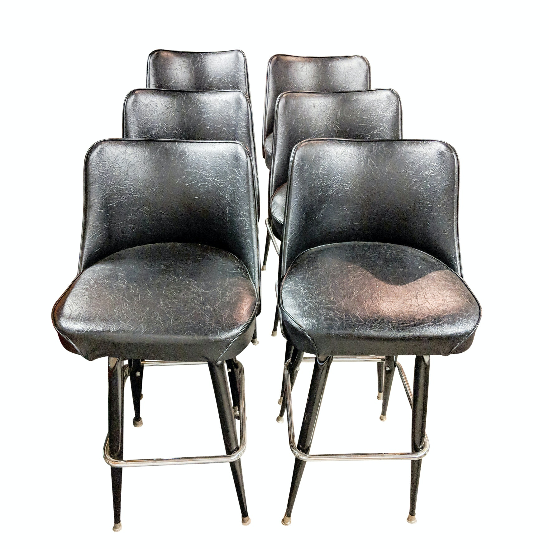 Mid-Century Modern Style Bar Chairs
