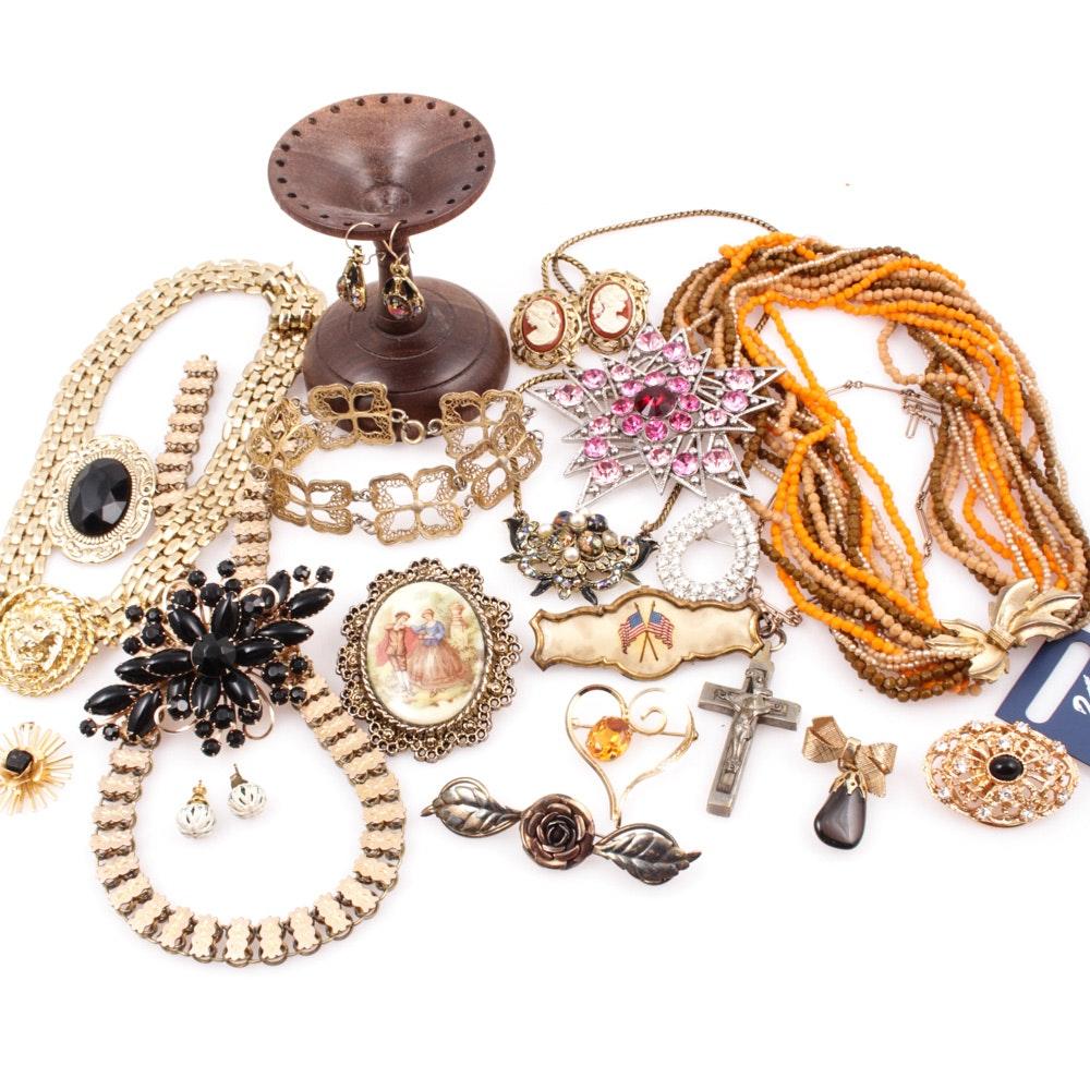 Vintage Jewelry Featuring Swarovski