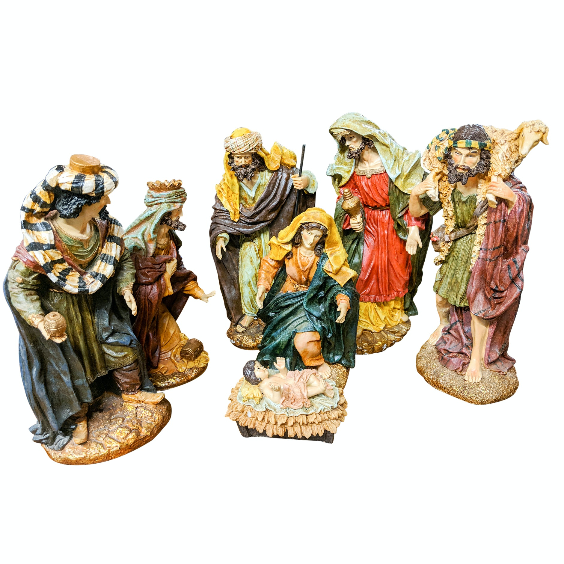 Frontgate Nativity Figurines