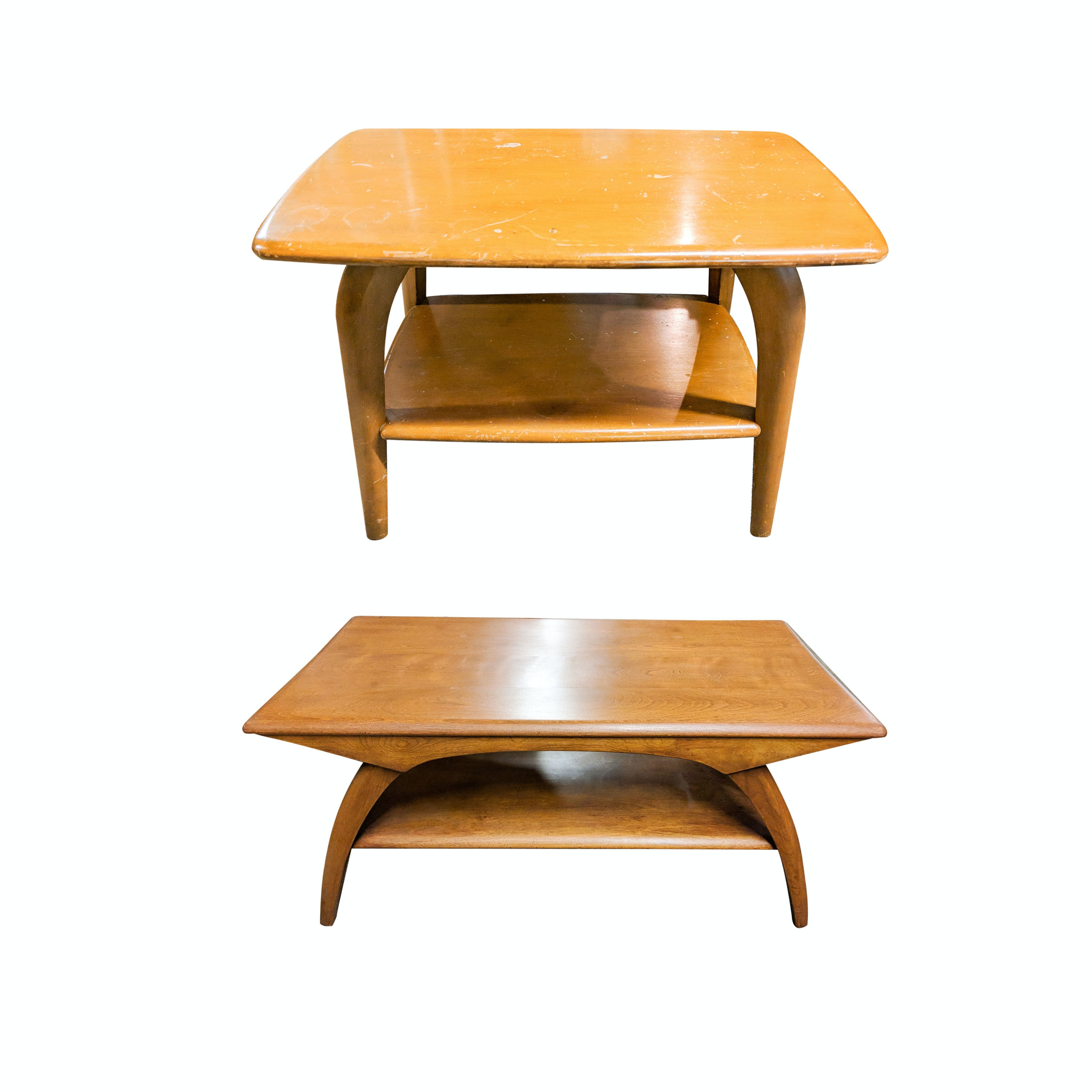 Heywood-Wakefield Mid-Century Modern Coffee and End Tables