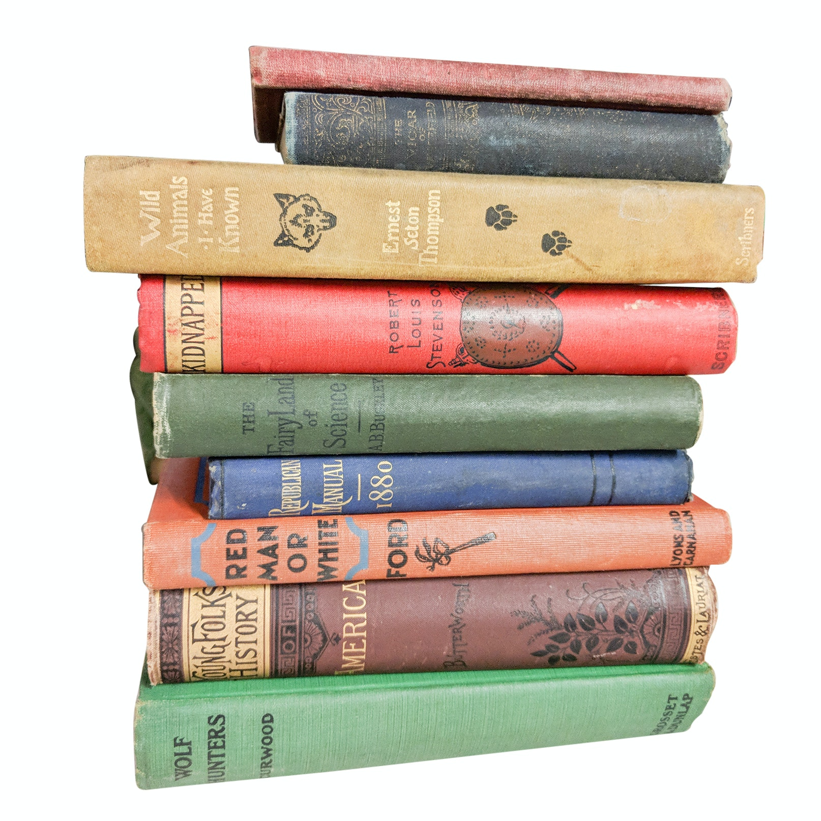 Antique and Vintage Book Collection