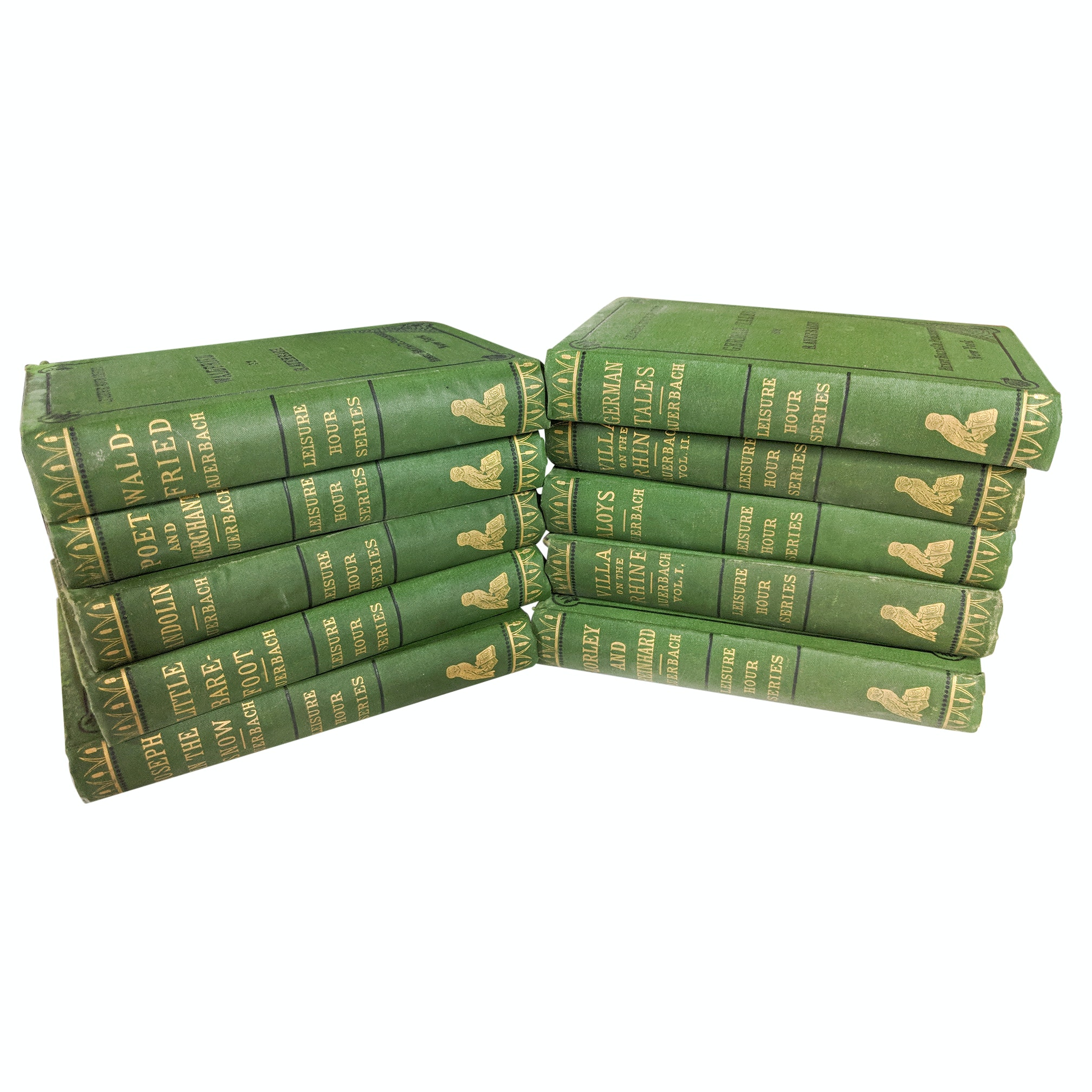 "1875 ""Leisure Hour Series"" Hardcover Books"
