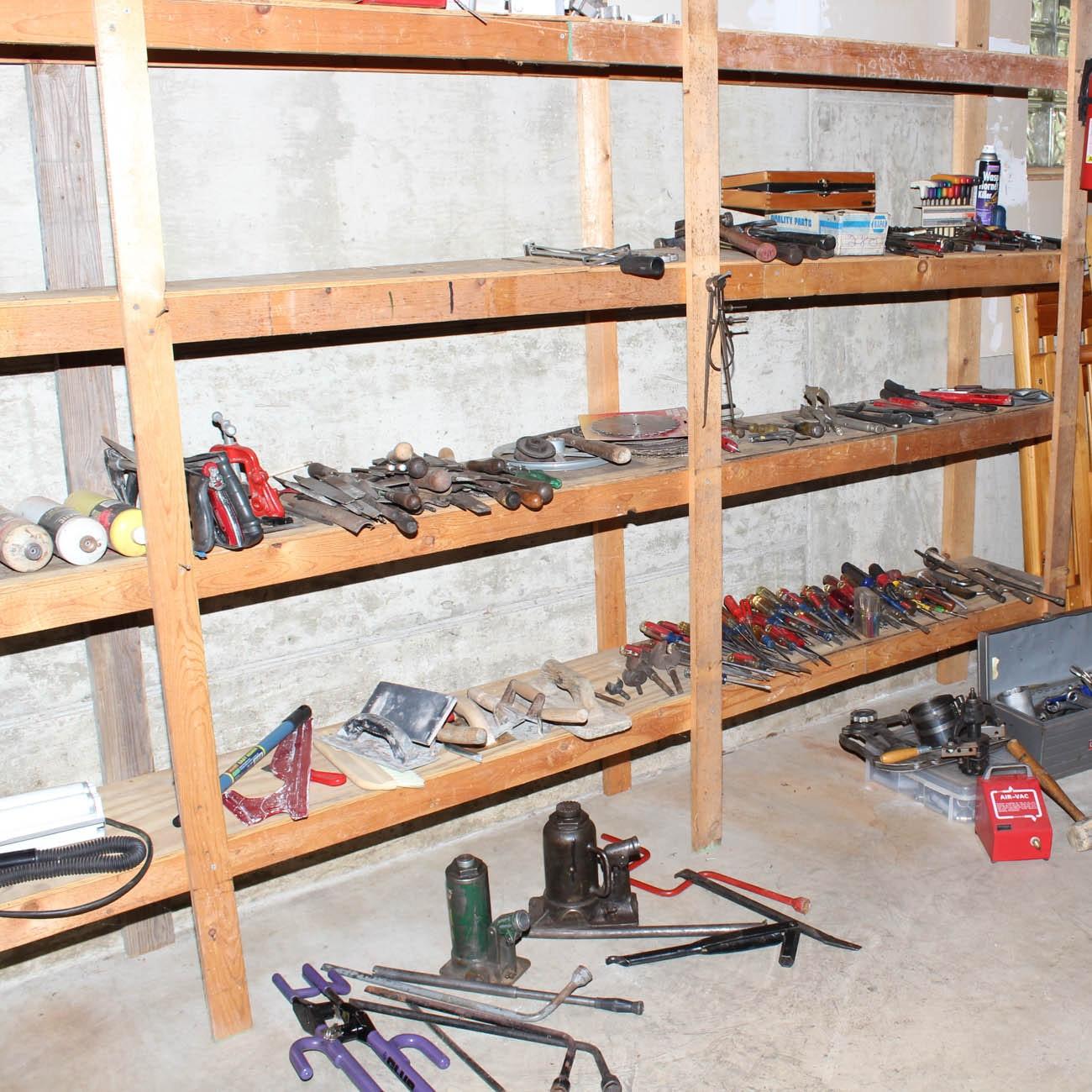 Generous Assortment of Hand Tools