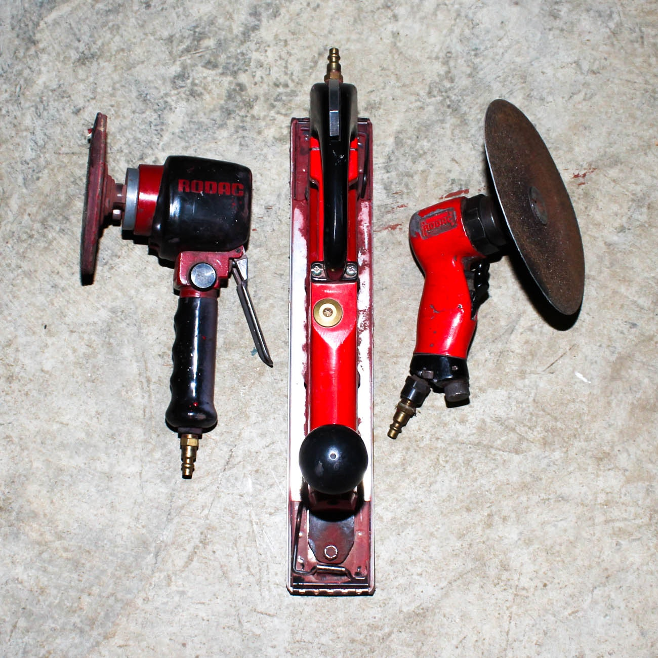 Assorted Sanding Tools