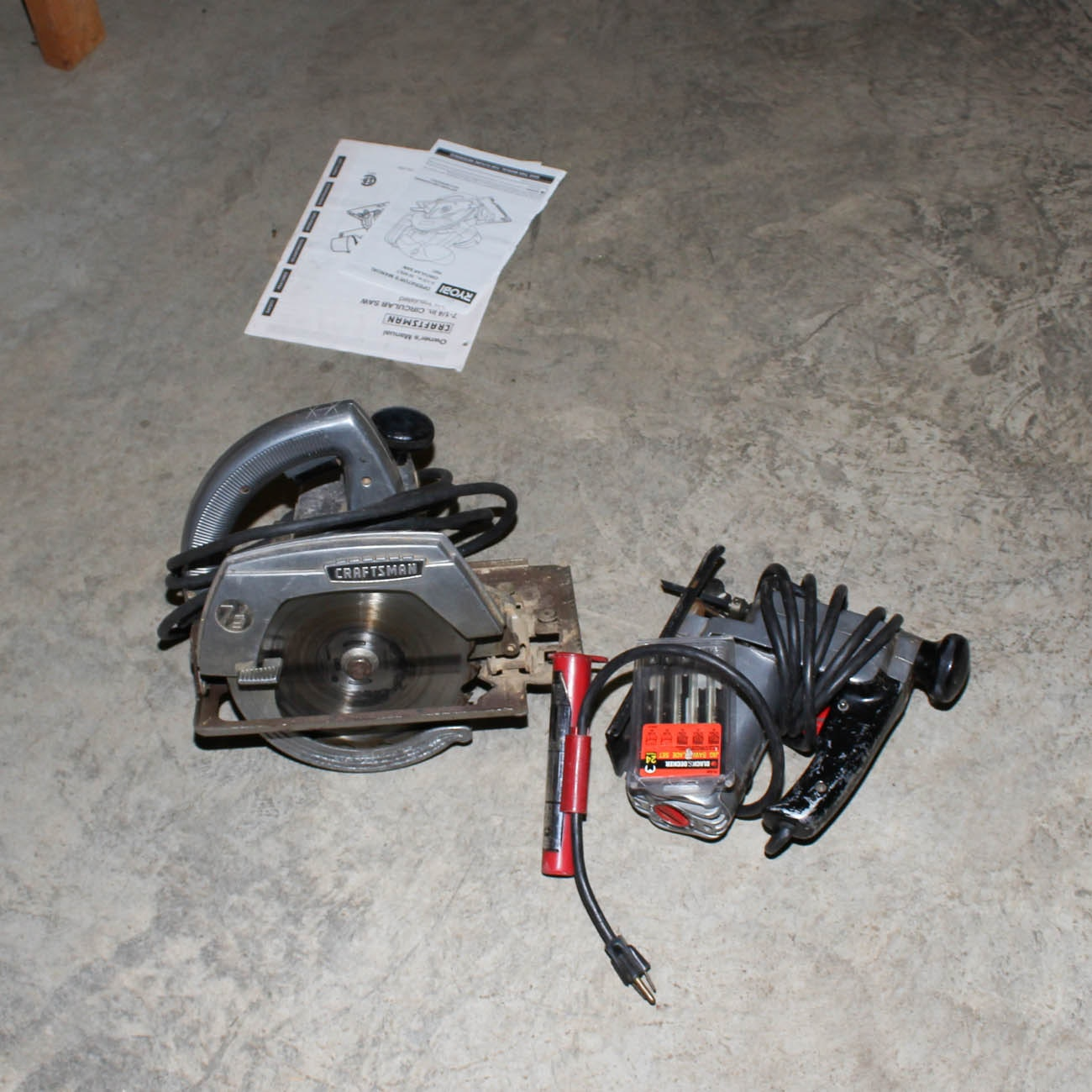 Craftsman Circular Saw and Jigsaw