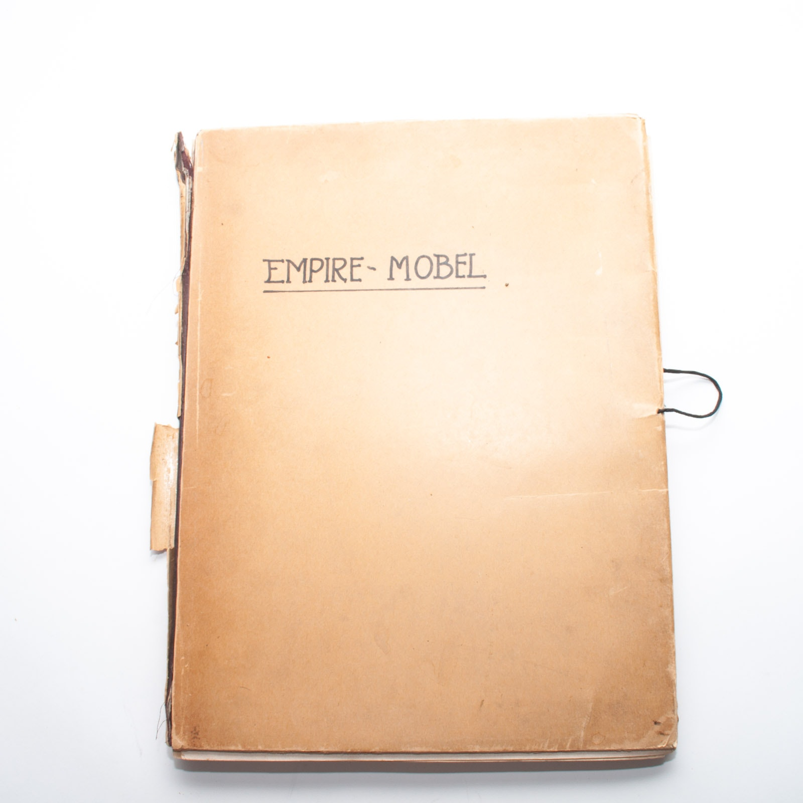 "Antique 1910 Portfolio Book ""Empire-Möbel"" by Egon Hessling"