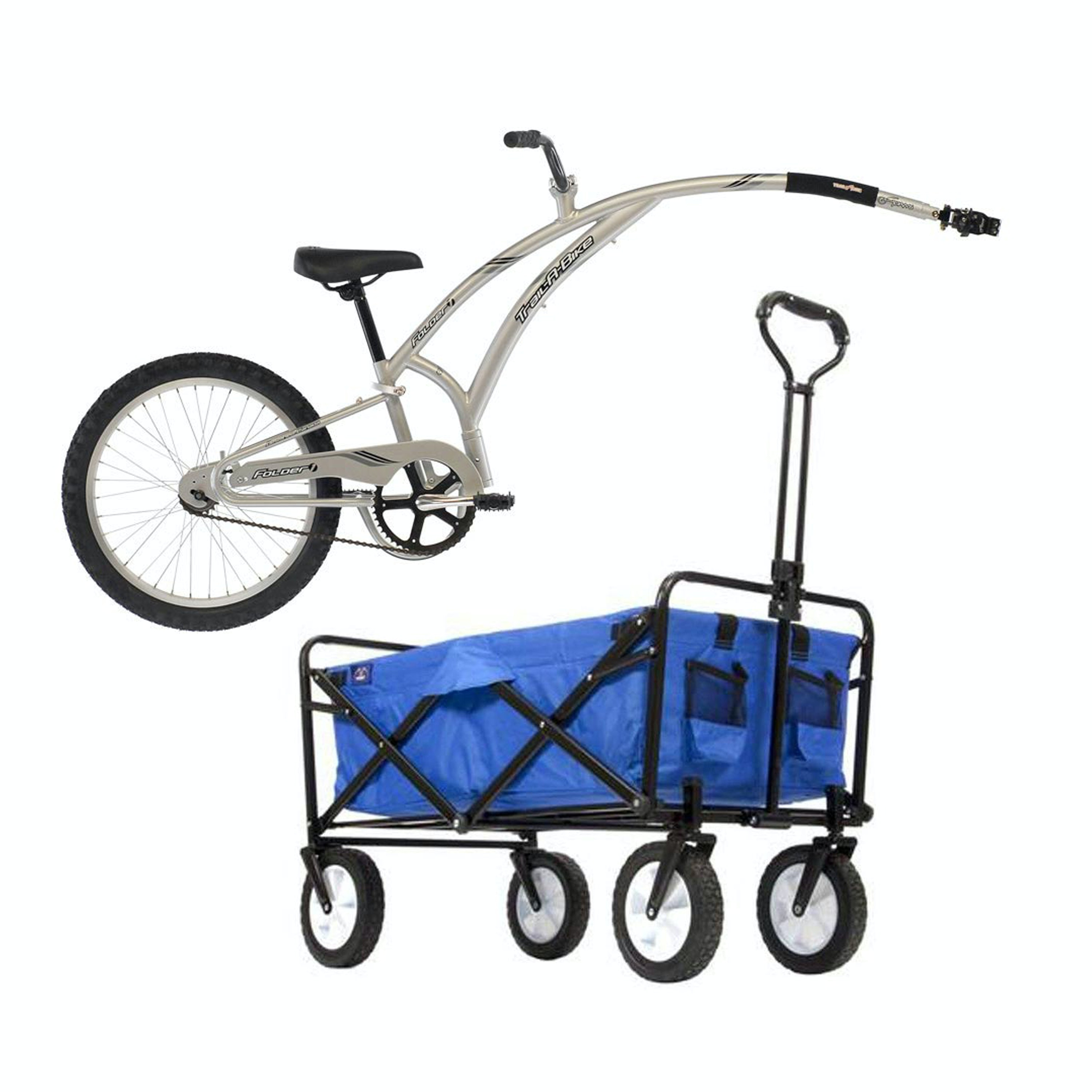 Adams Trail Bike and Collapsible MacWagon, New in Original Boxes