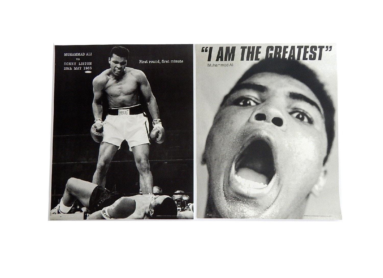 Two Muhammad Ali Poster Prints