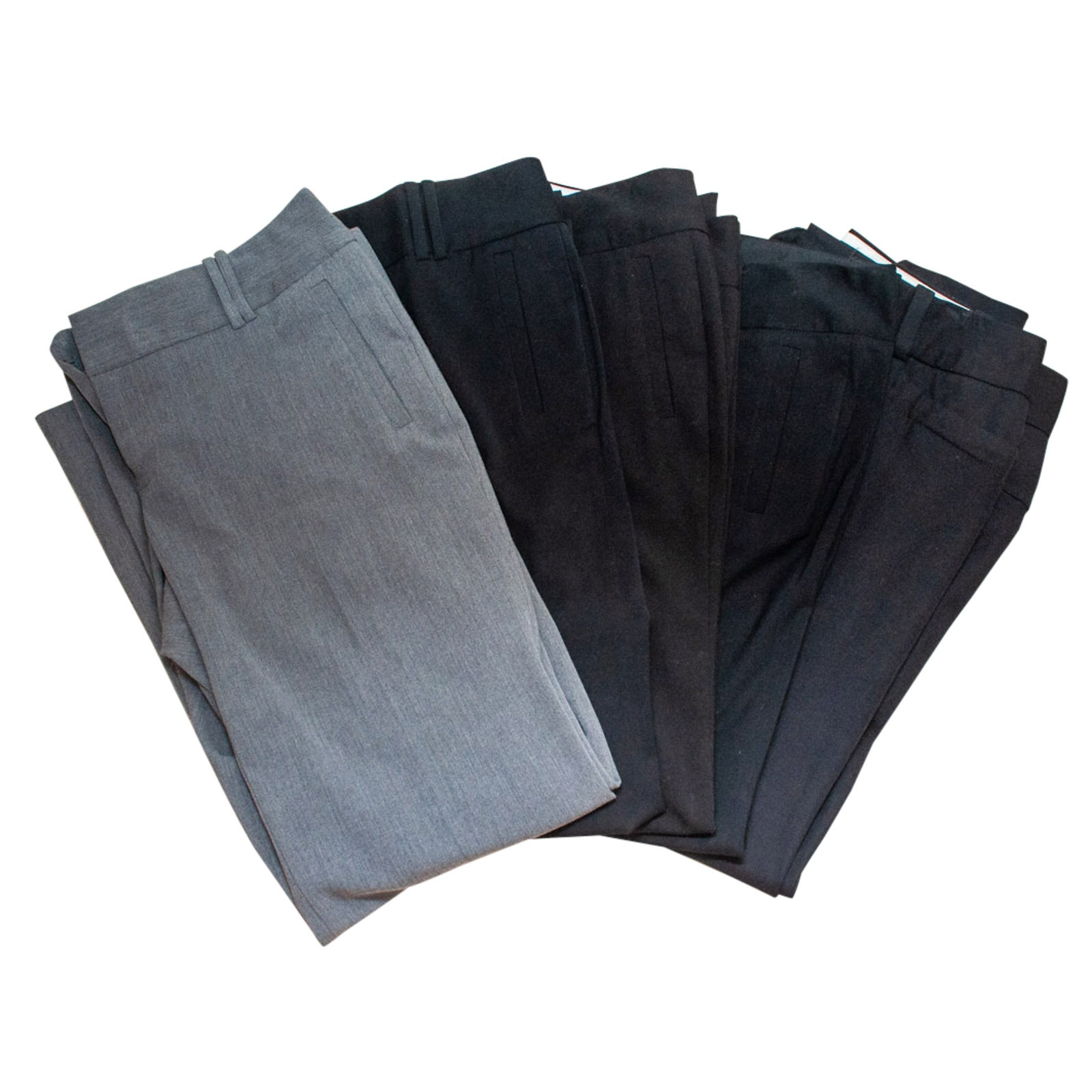 Women's Calvin Klein Pants in Black and Gray