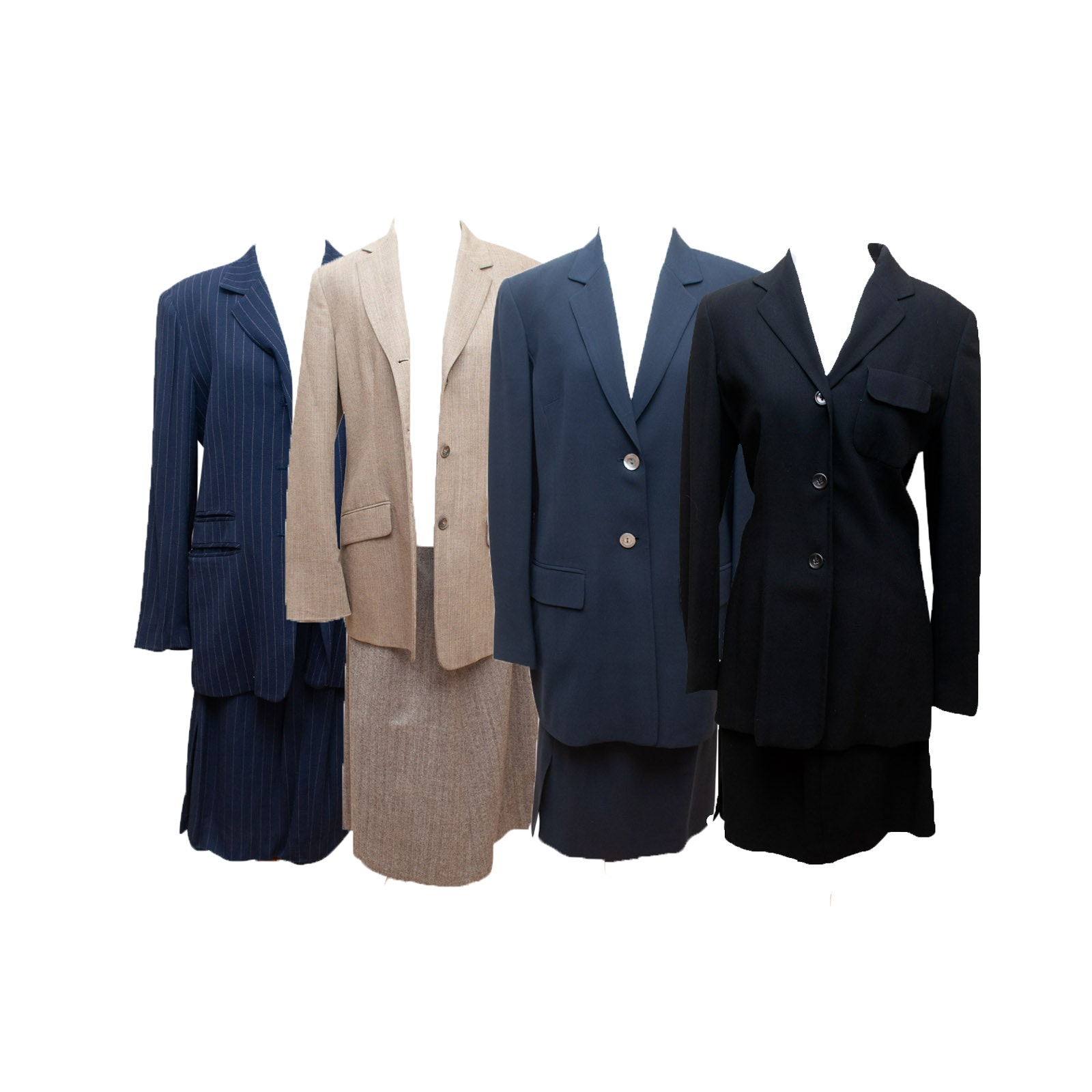 Women's Skirt Suits Including Brooks Brothers and JH Collectibles