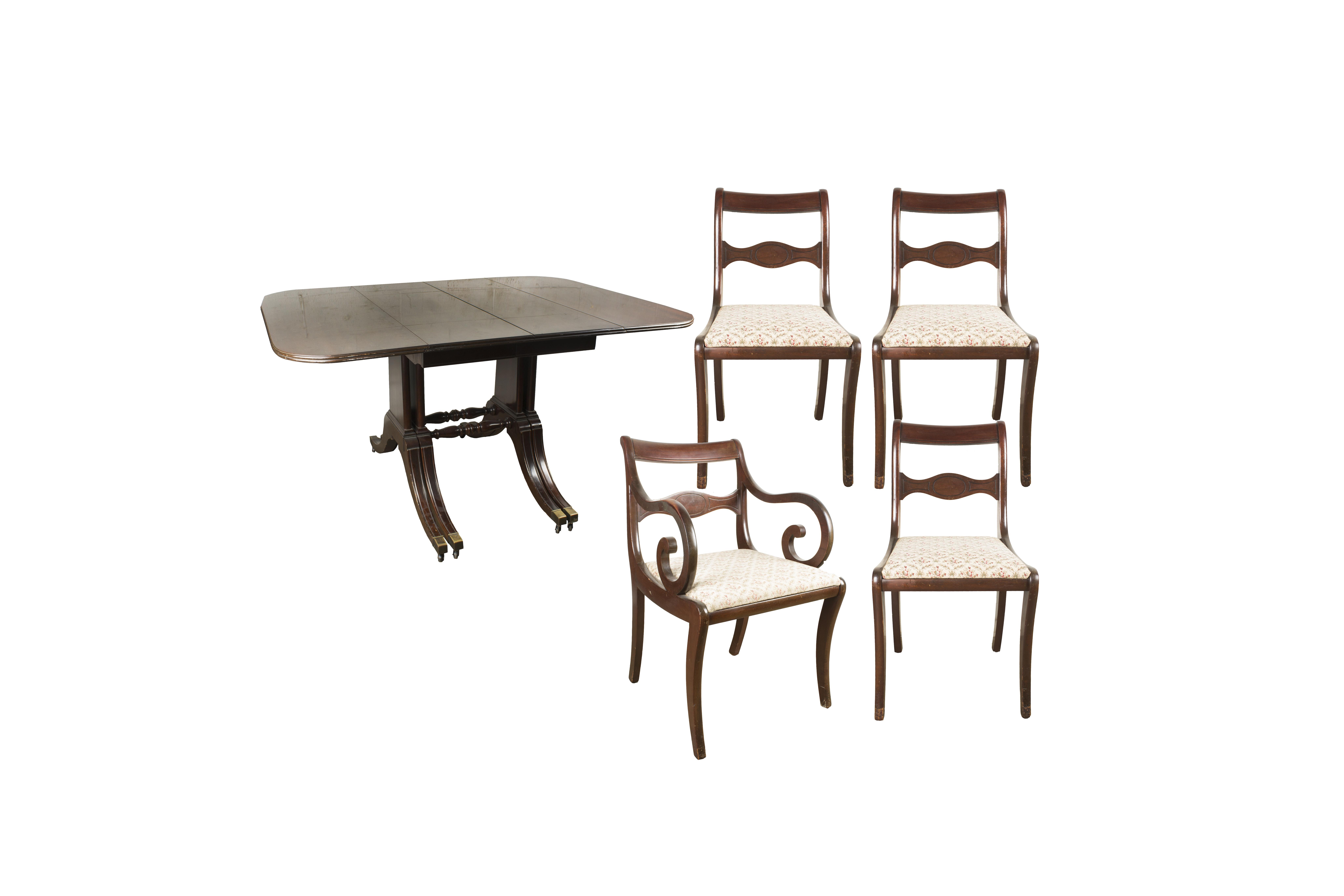 Phyfe Style Dining Set