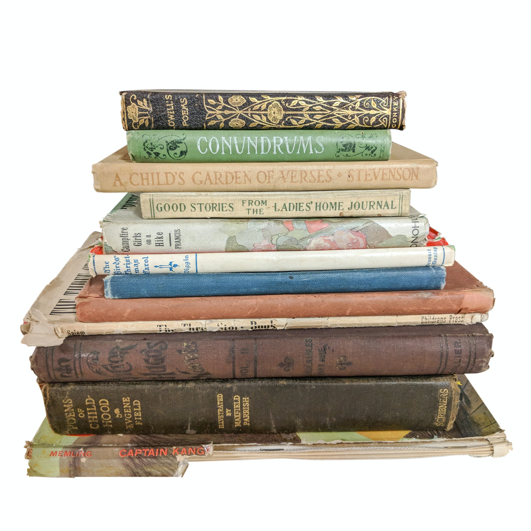 Vintage and Antique Hardcover Book Collection