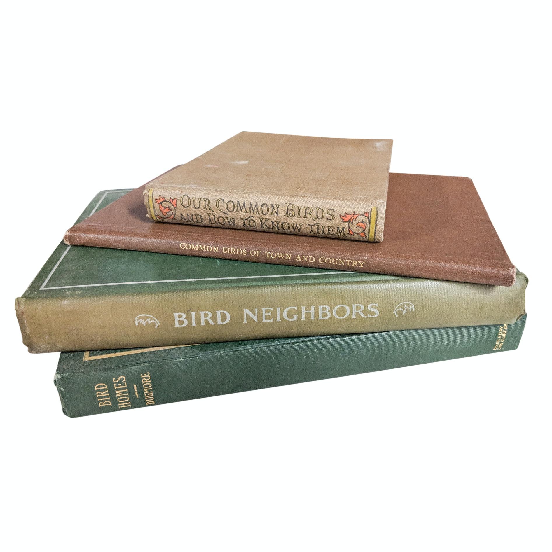 Antique Bird Enthusiast Hardcover Books