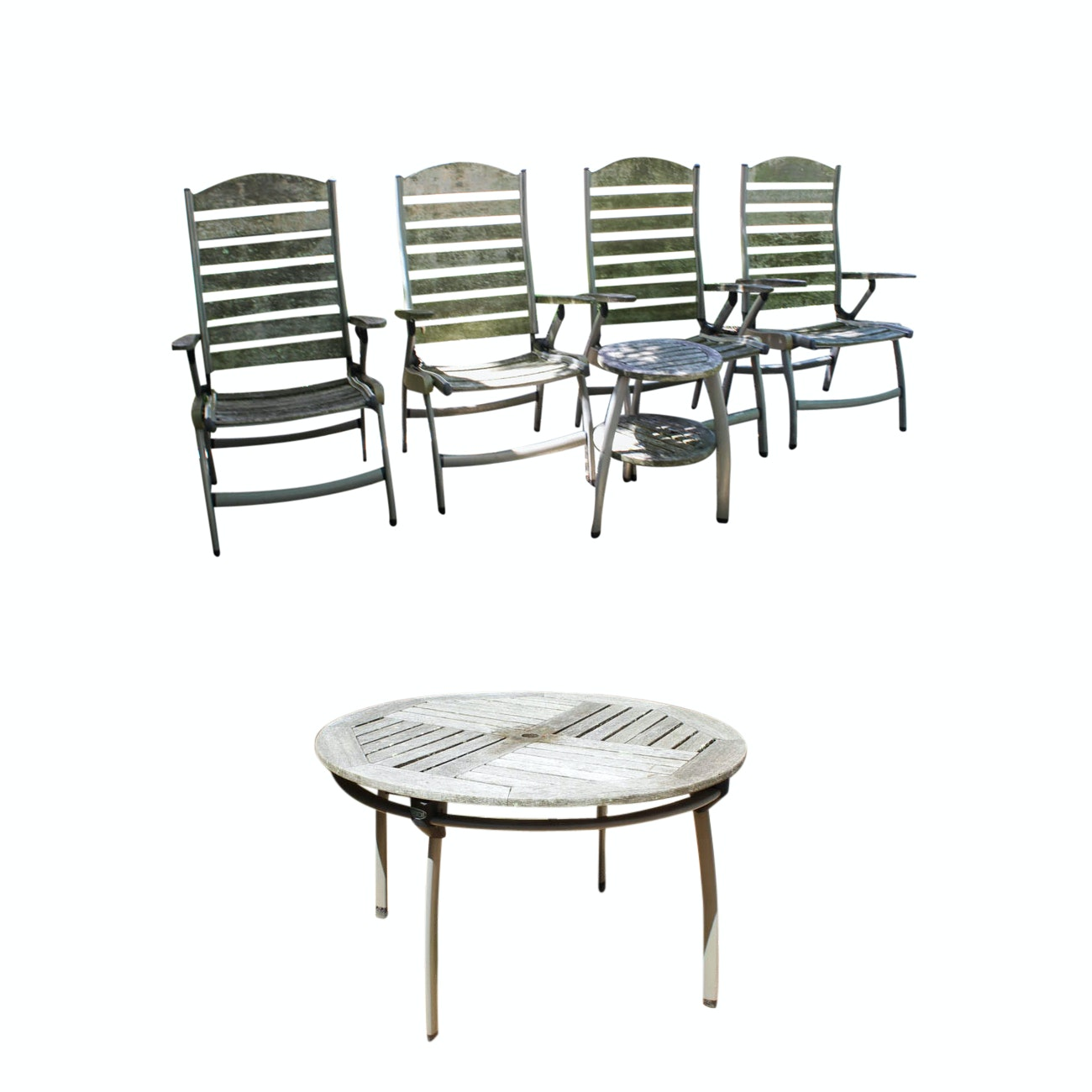 Preston Teak Patio Furniture Set