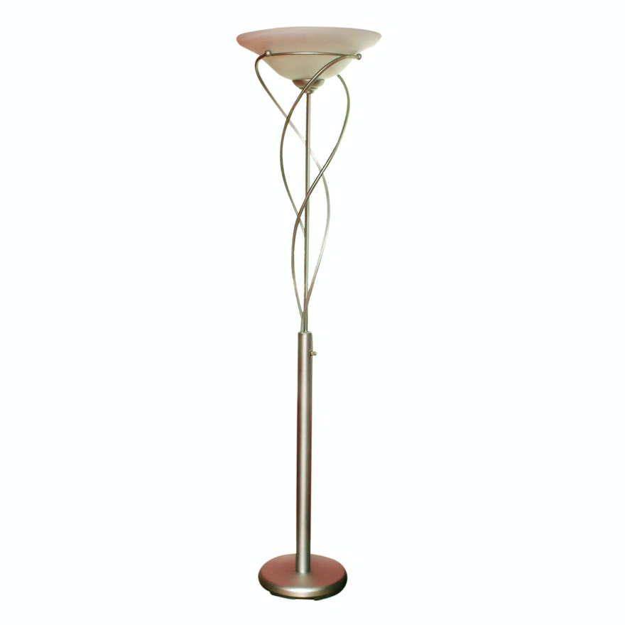 Contemporary metal floor lamp ebth contemporary metal floor lamp aloadofball Image collections
