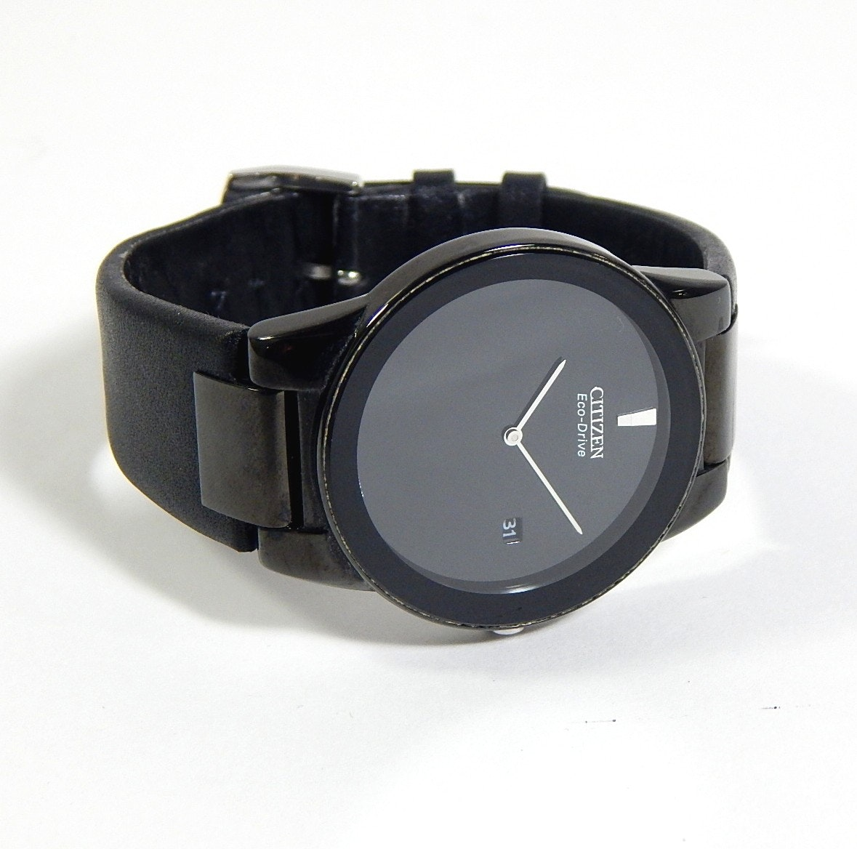 Citizen Black Eco Drive Wristwatch