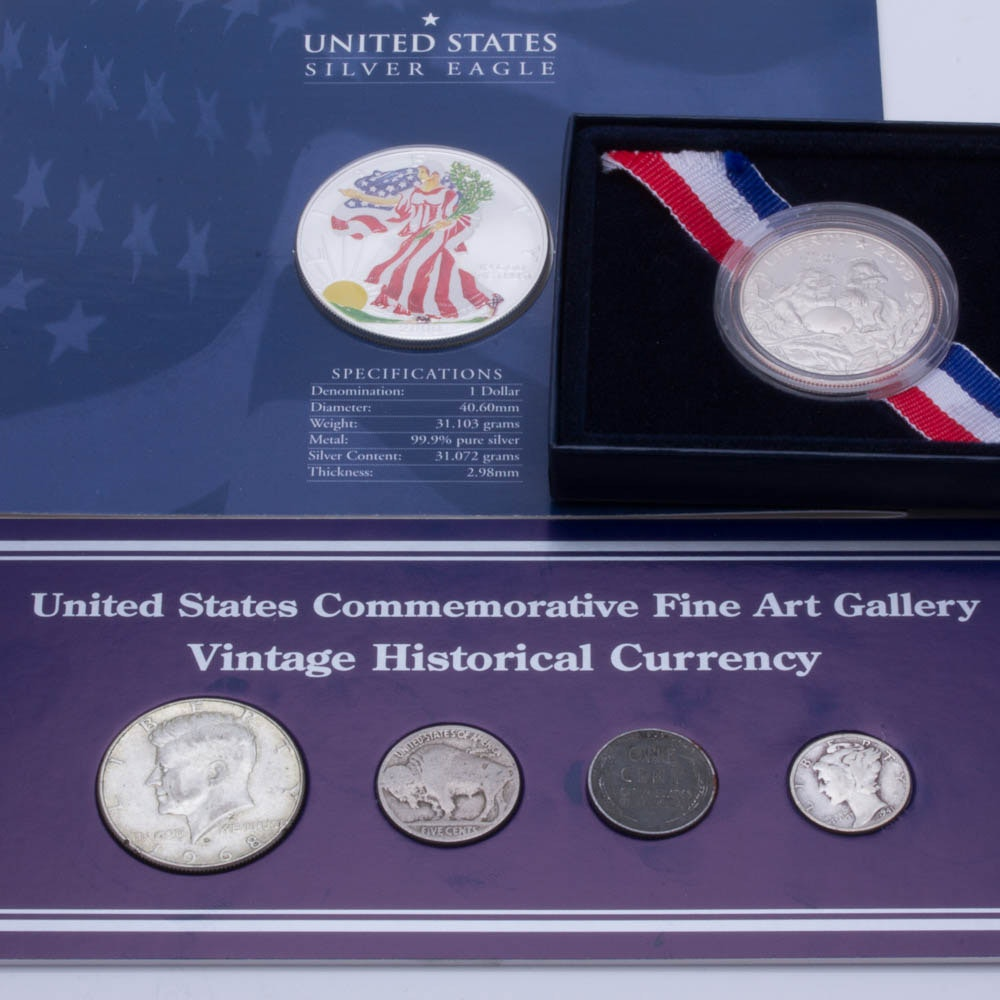 Assortment of Vintage and Modern U.S. Coins