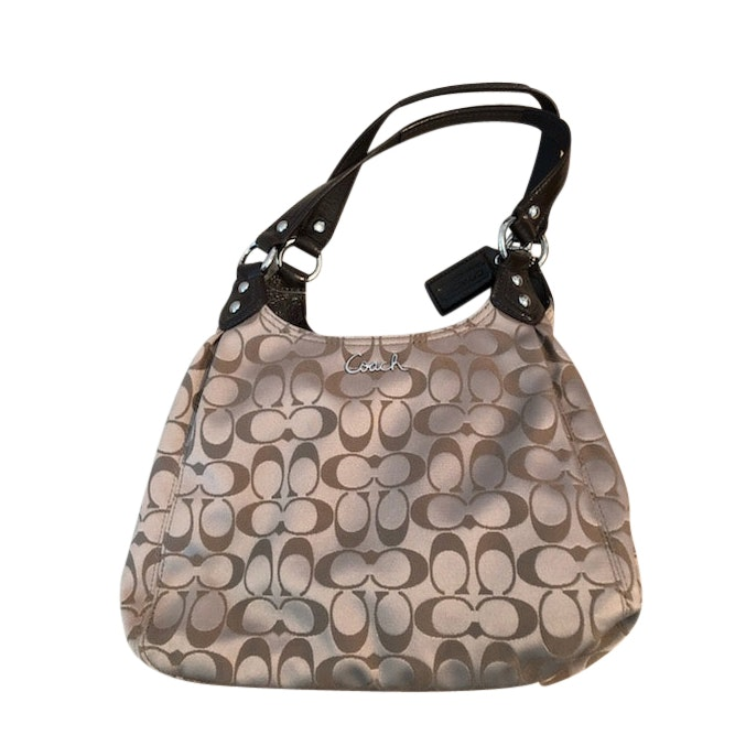 Coach Jacquard Handbag, Never Used