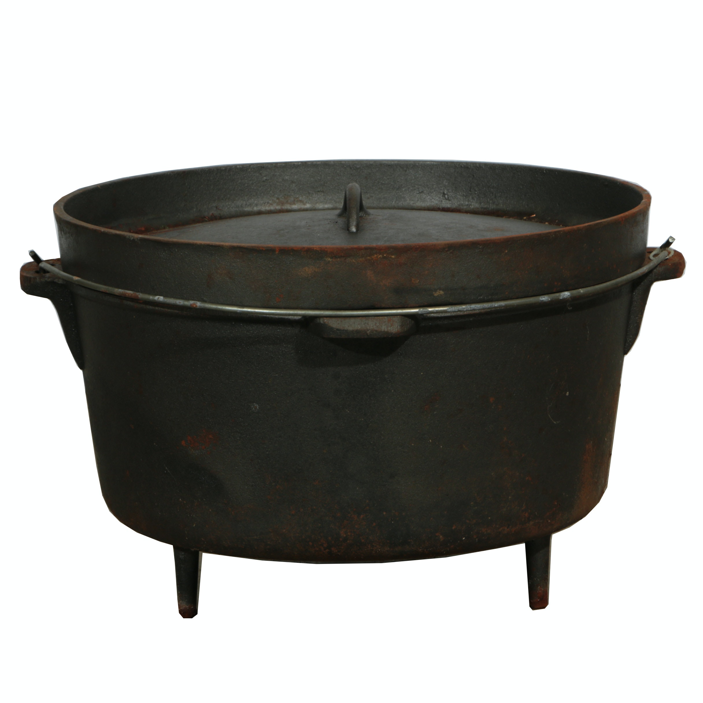 Cast Iron Camping Dutch Oven