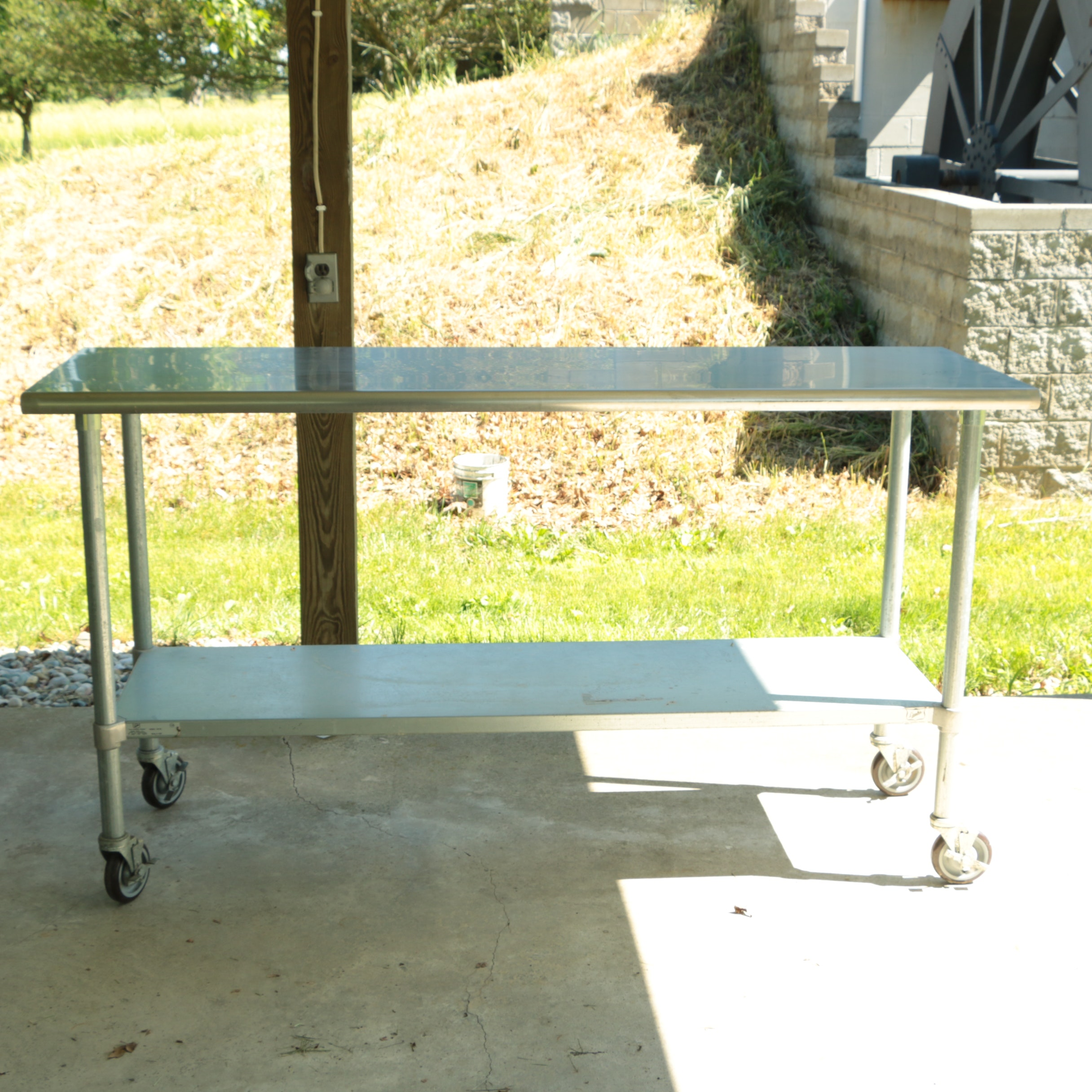 Duke Stainless Steel Industrial Kitchen Work Table