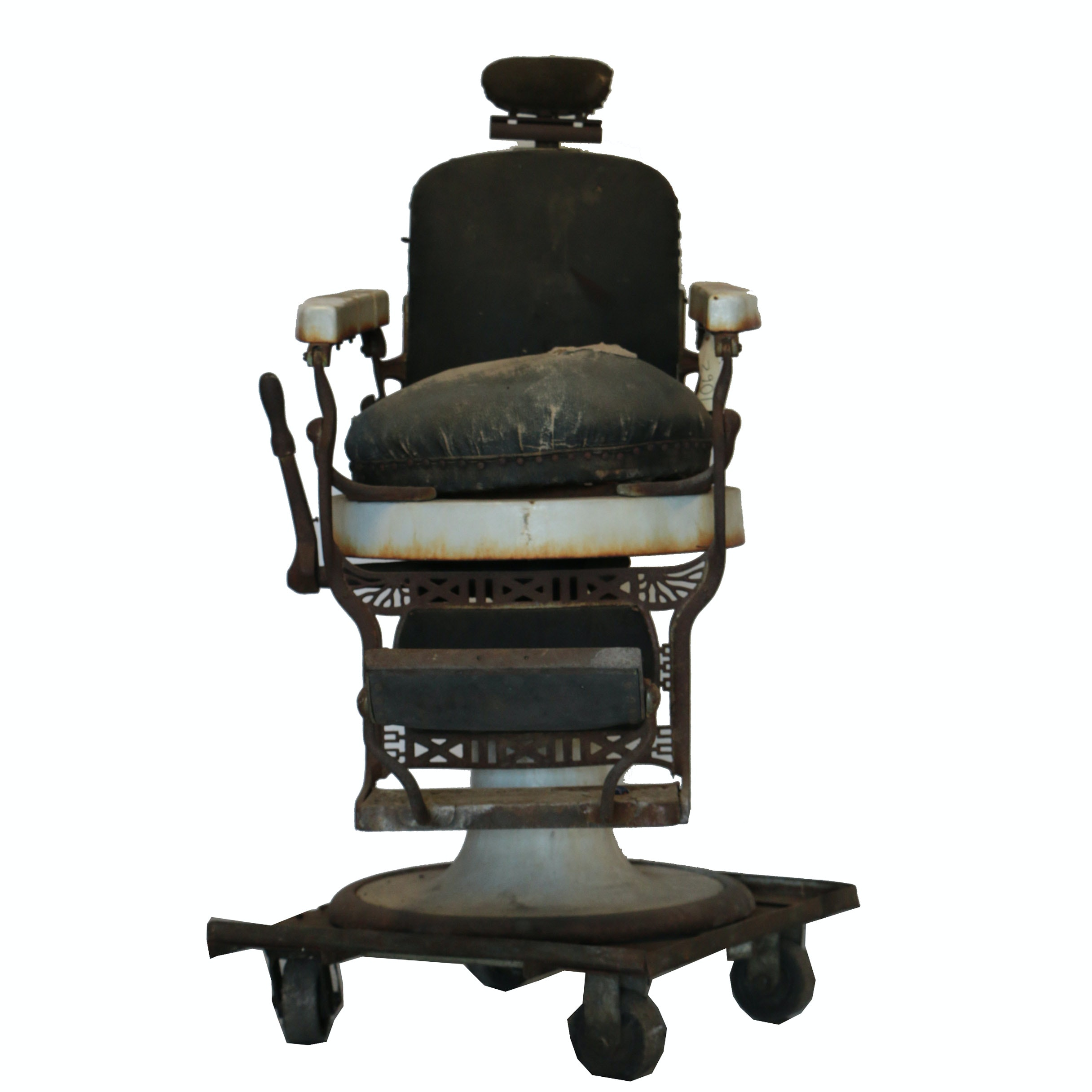 Antique Barber Chair by Koken