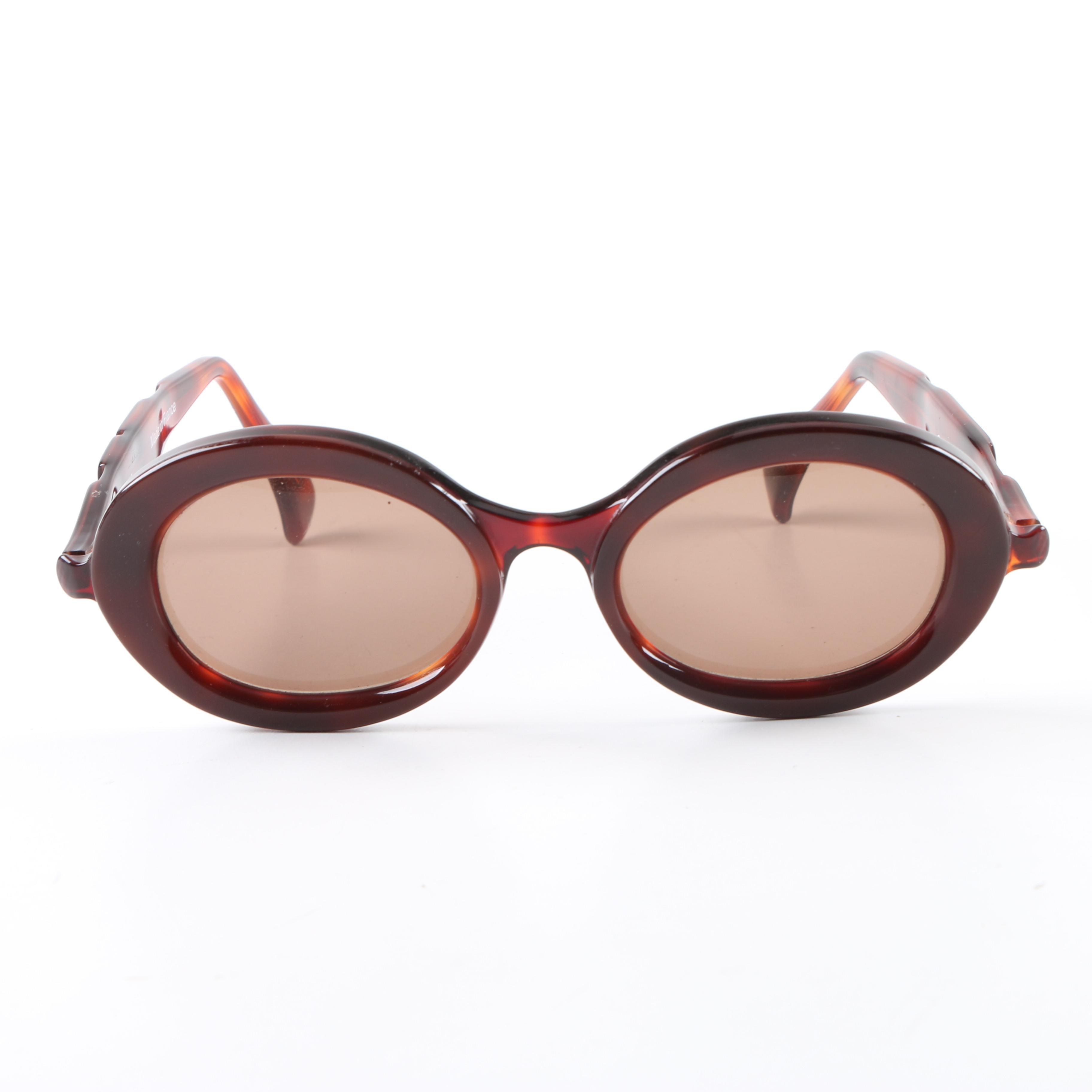 Anne et Valentin Cerise Tortoiseshell Style Sunglasses, Made in France